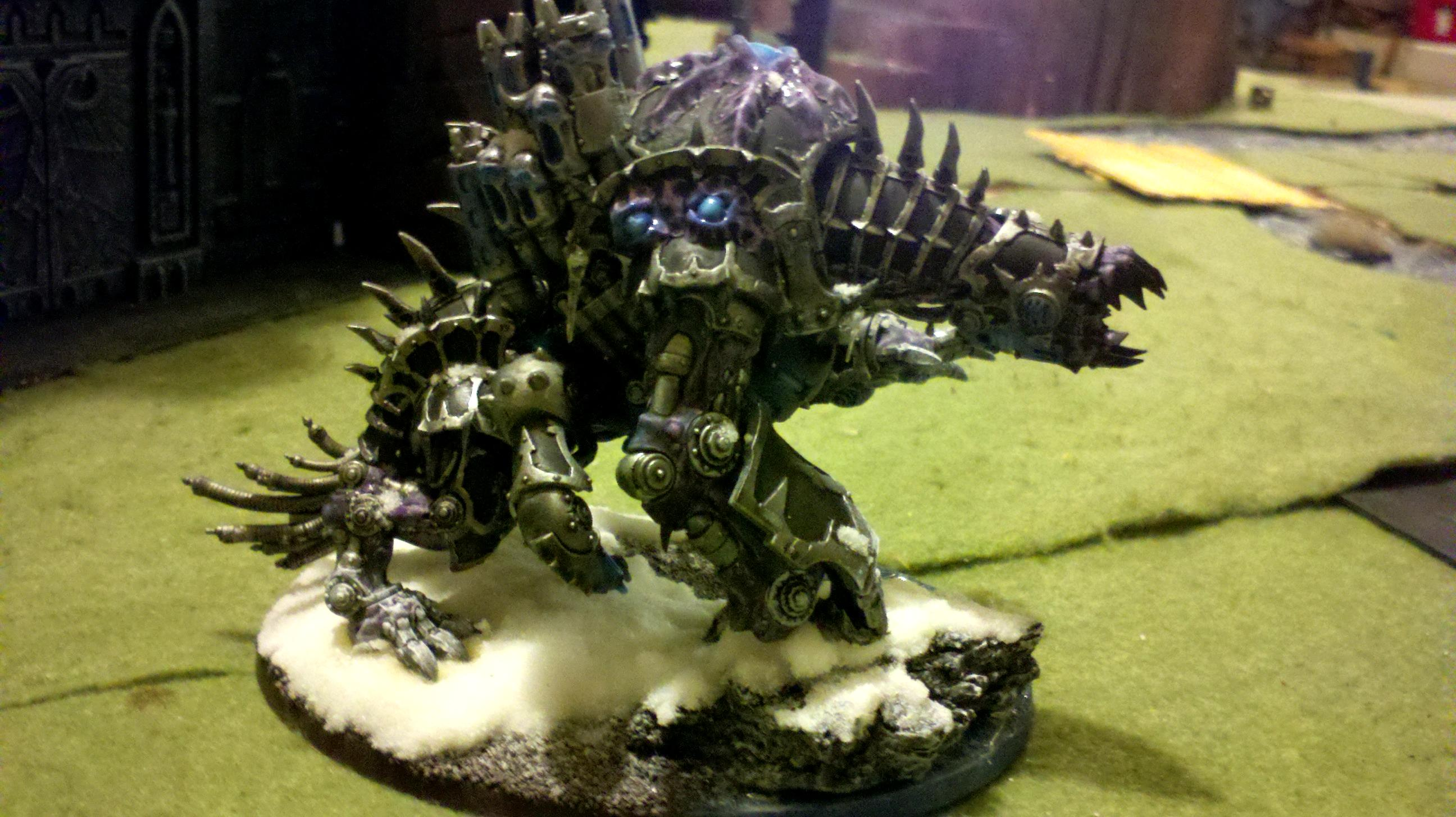 Chaos, Demon Engine, Maulerfiend, Warhammer 40,000