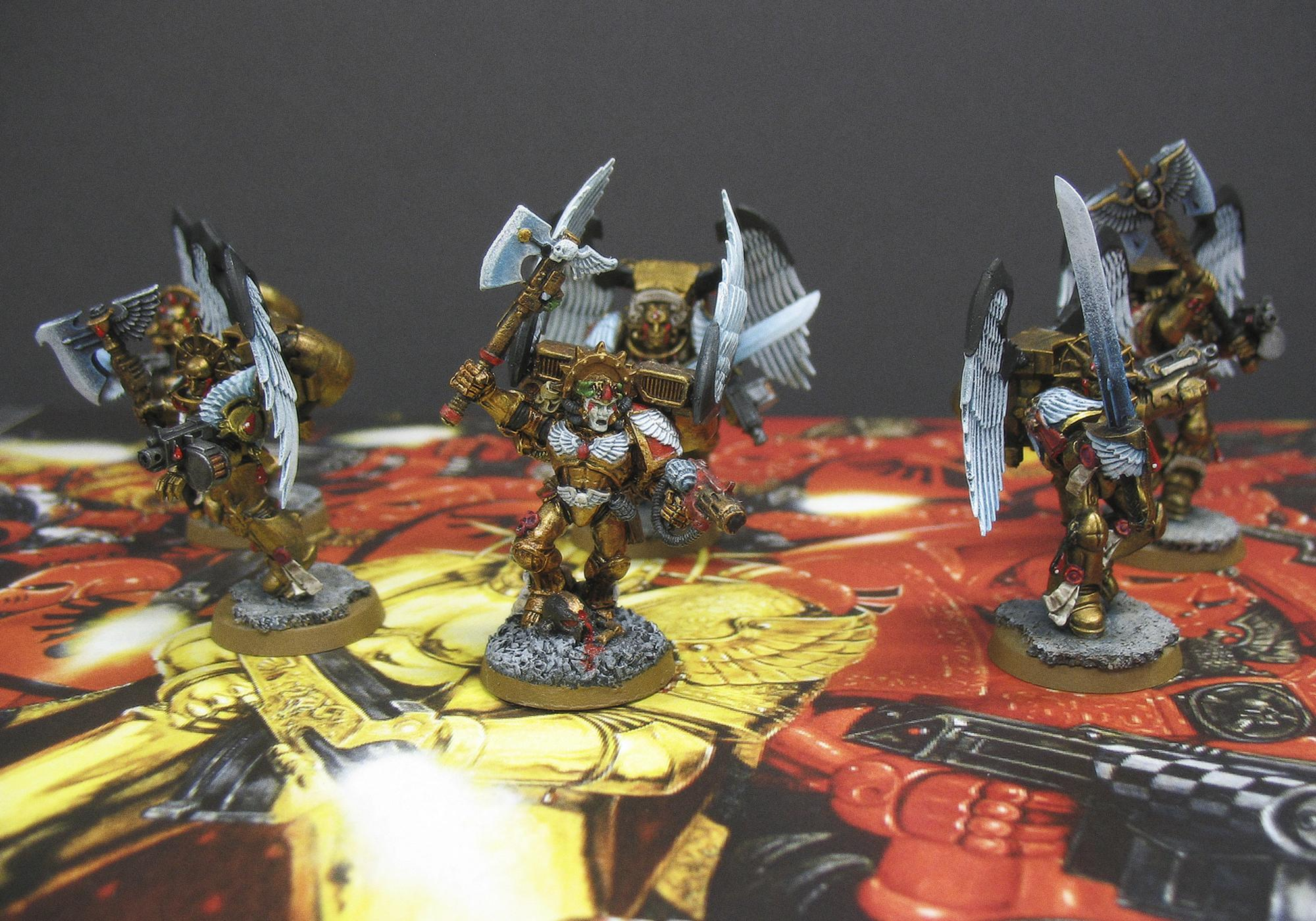 Blood Angels, Dante, Sanguinary Guard