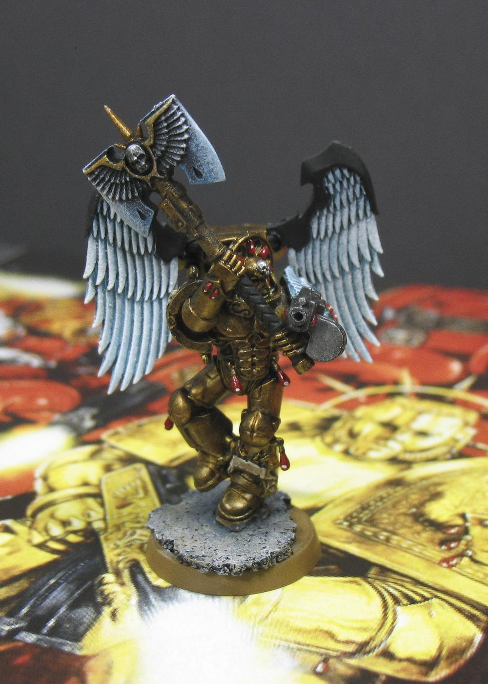 Blood Angels, Glaive Encarmine Axe, Sanguinary Guard