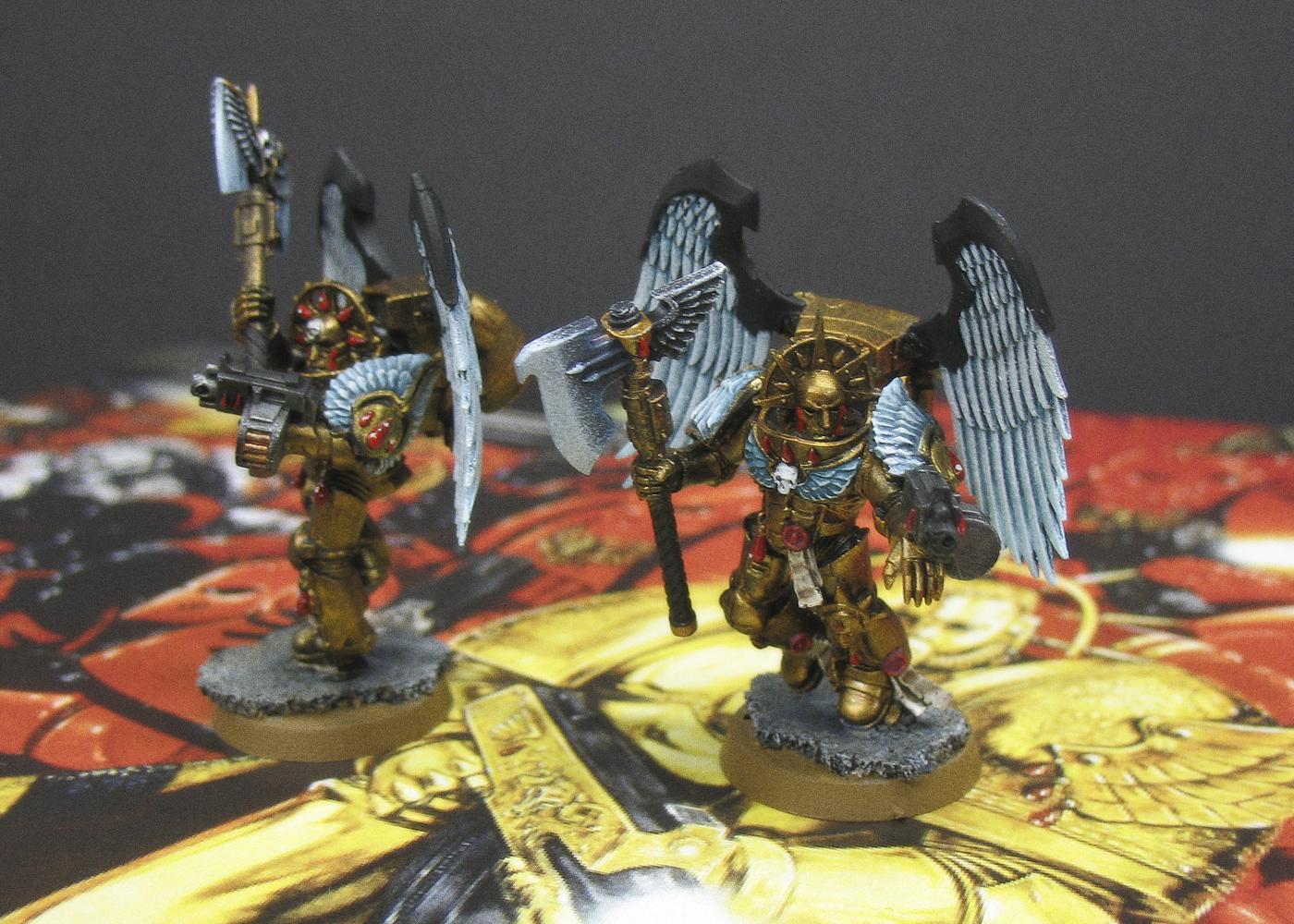 Blood Angels, Glaive Encarmine Axes, Sanguinary Guard