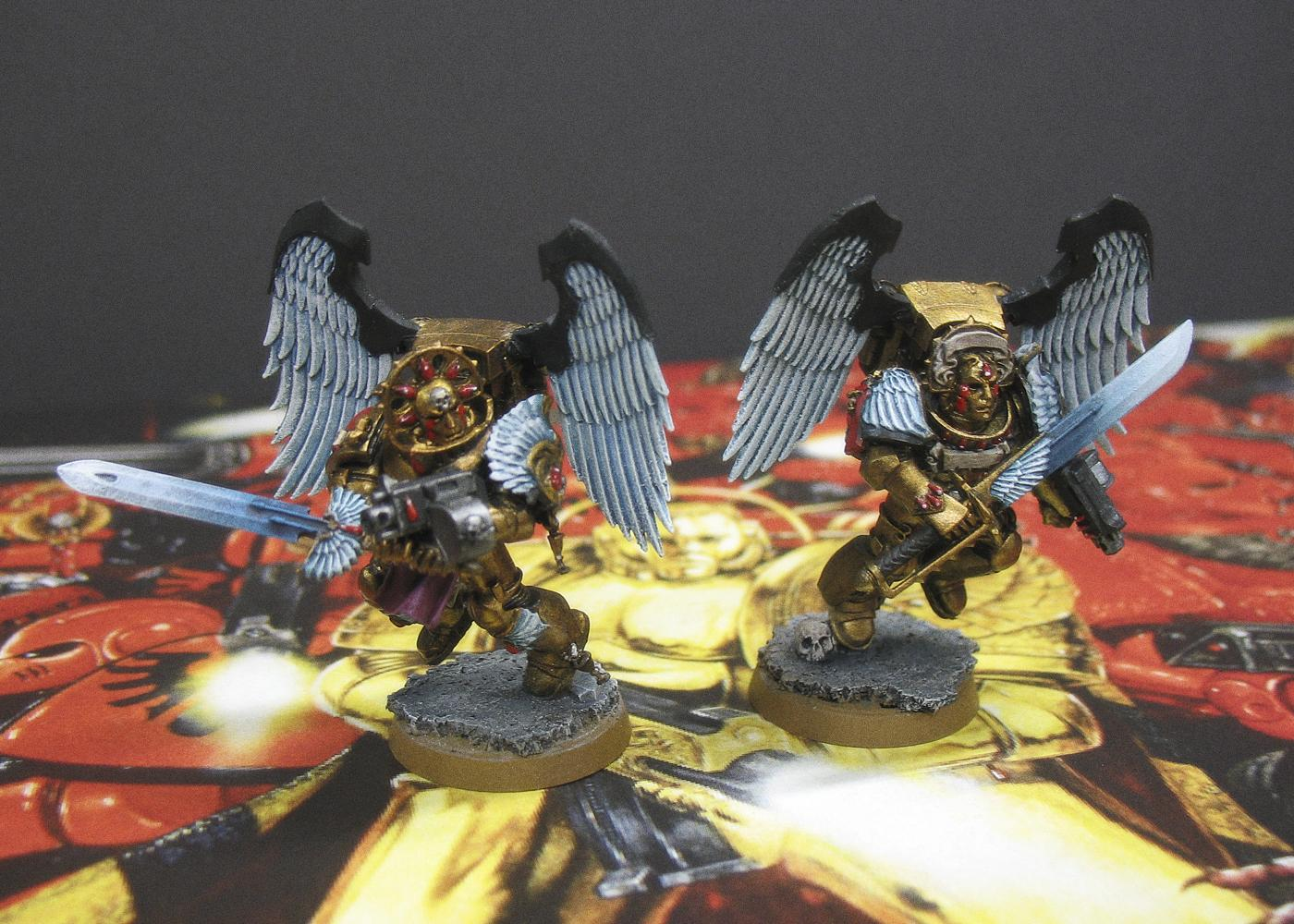 Blood Angels, Glaive Encarmine Blades, Sanguinary Guard