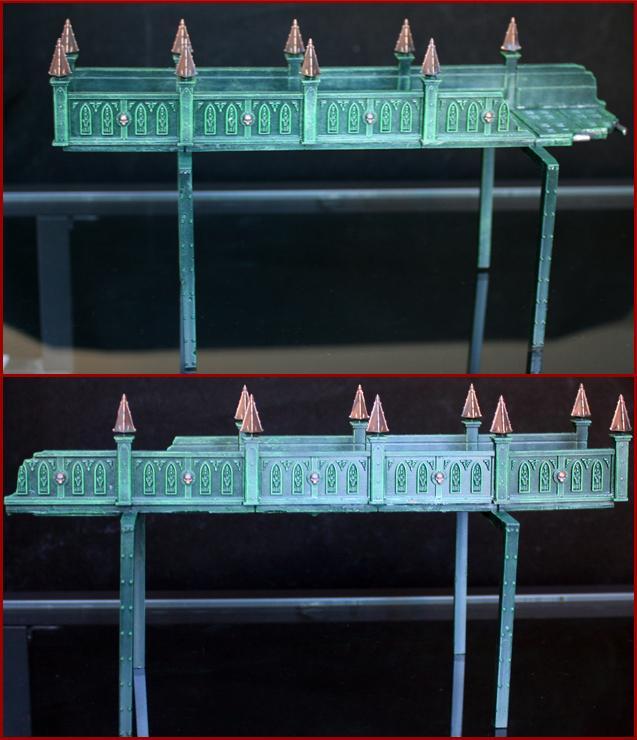 Arkaal, Bridge, Catwalk, Feet, Ruins, Urban