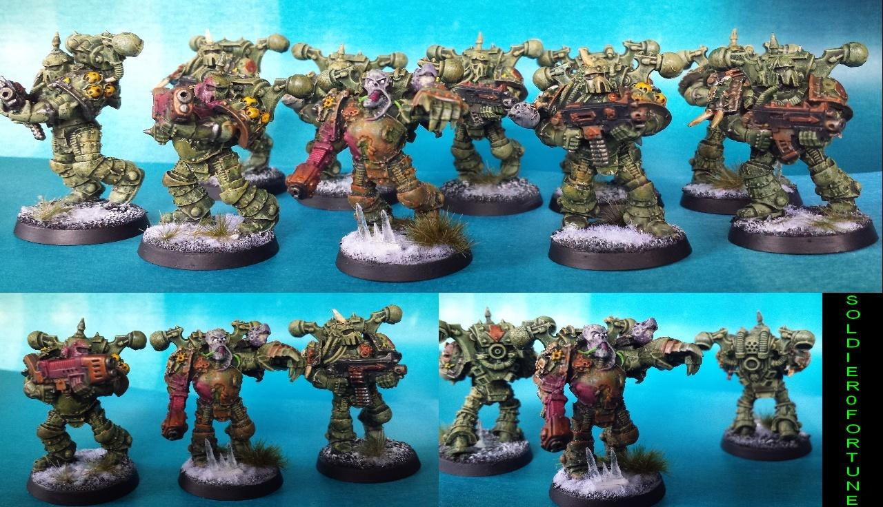 Chaos Space Marines, Death Guard, Decay, Filth, Nurgle, Plague Marines, Rot