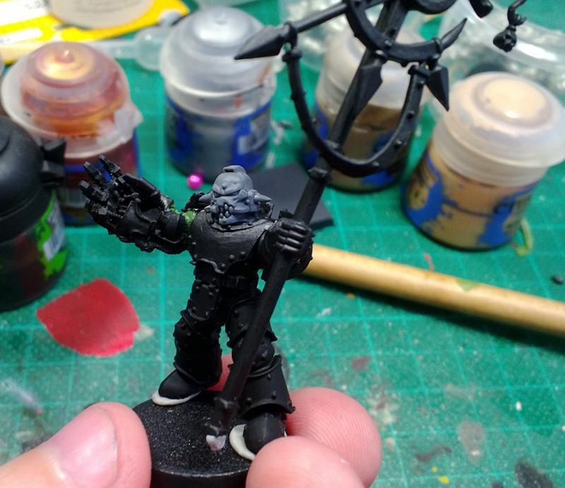 Chaos, Chaos Space Marines, Emperor's Children, Warhammer 40,000, Work In Progress