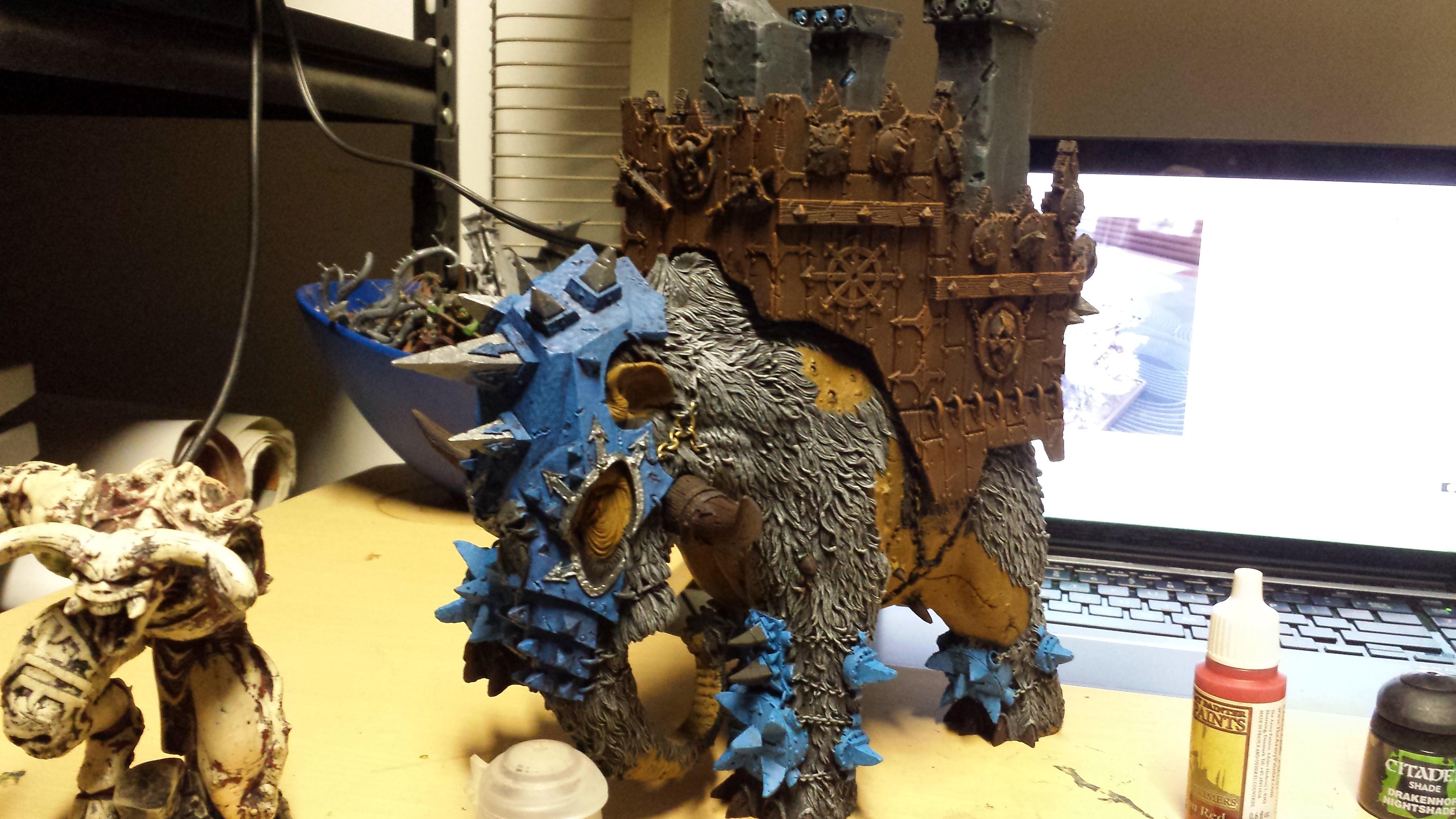 Chaos War Mammoth WIP