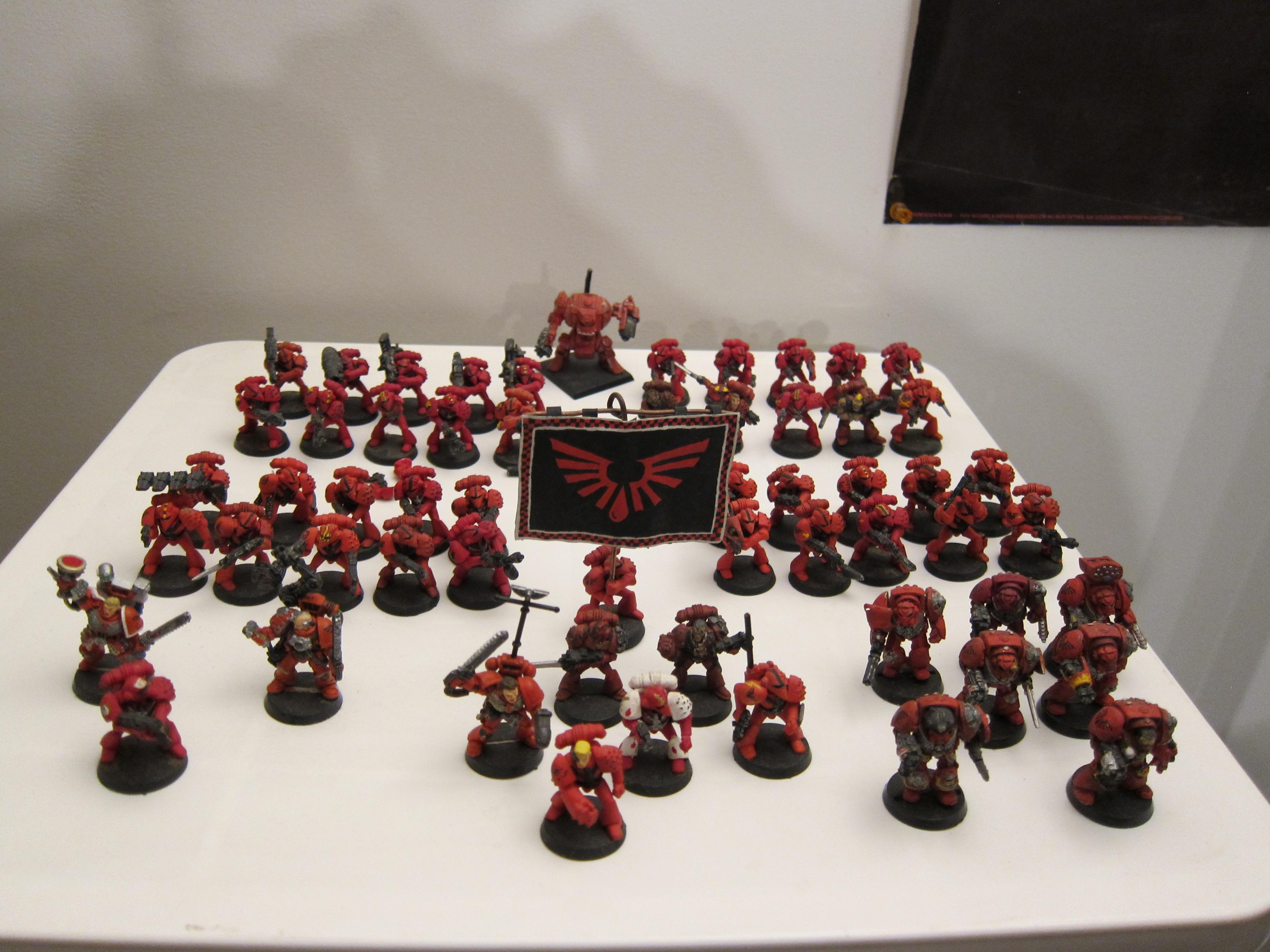 Beakies, Blood Angels, Out Of Production, Rogue Trader, Rt, Space Marines, Warhammer 40,000