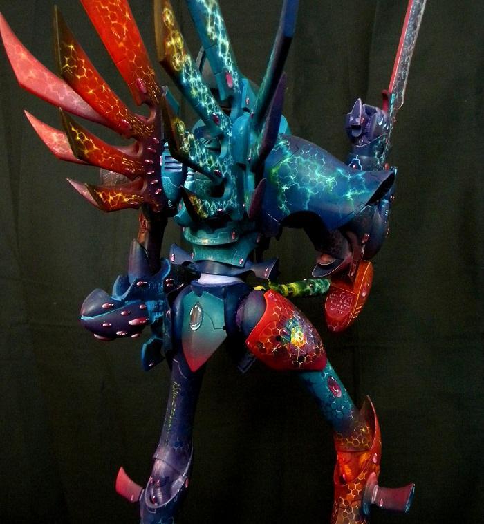 Airbrush, Eldar, Warhammer 40,000, Warhammer Fantasy