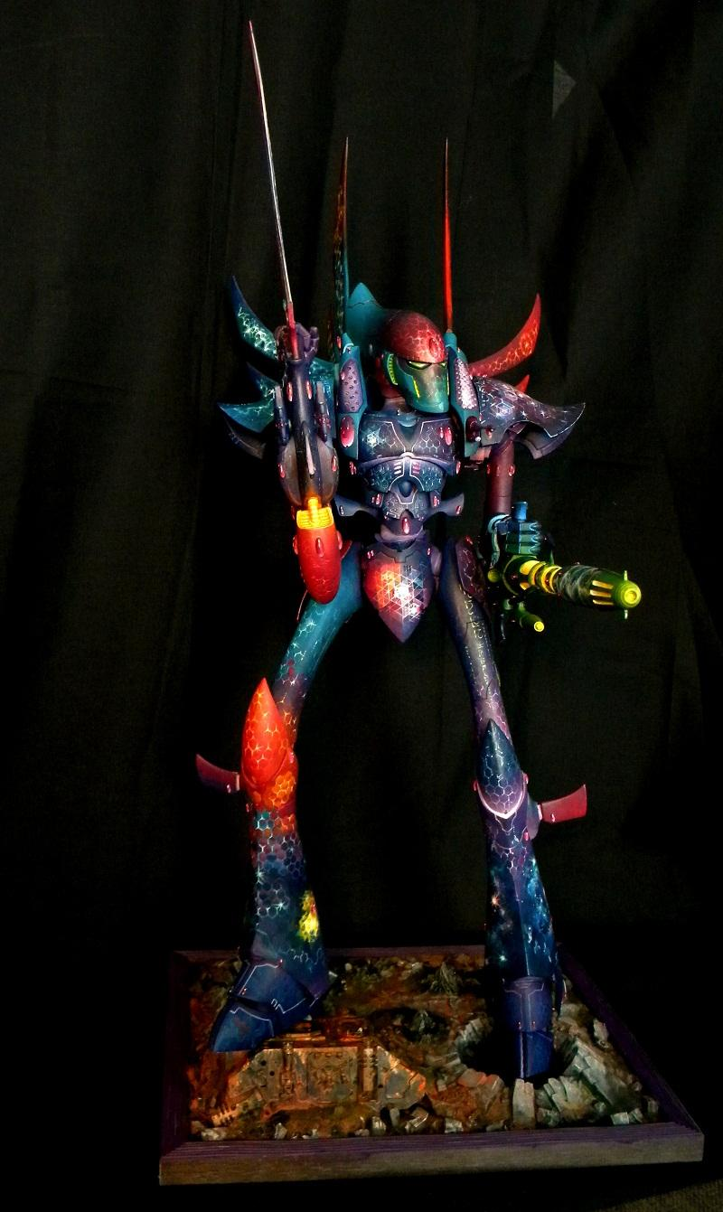 Eldar, Multi-colored, Phantom Titan, War Hammer 40k, Warhammer 40,000