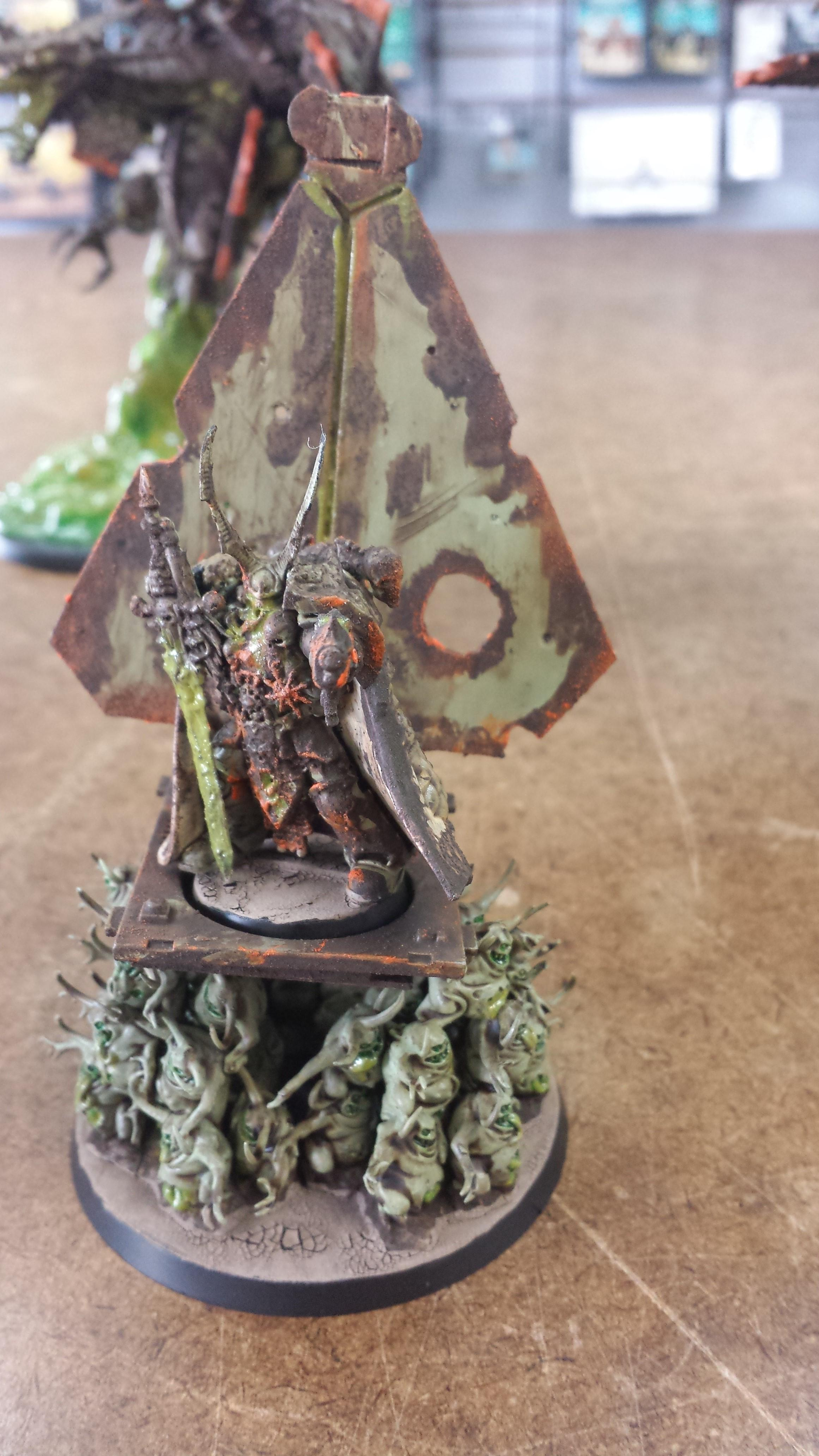 Conversion, Nurgle, Palanquin