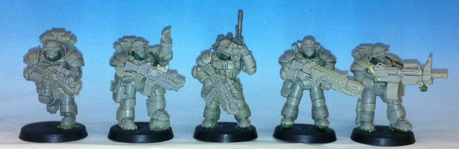 Anvil Industry, Carcharodons, Conversion, Seal, Space Marines, Space Sharks, Sternguard