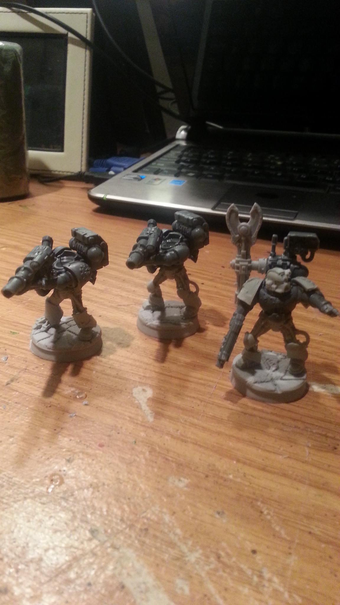 devestator squad.  first three