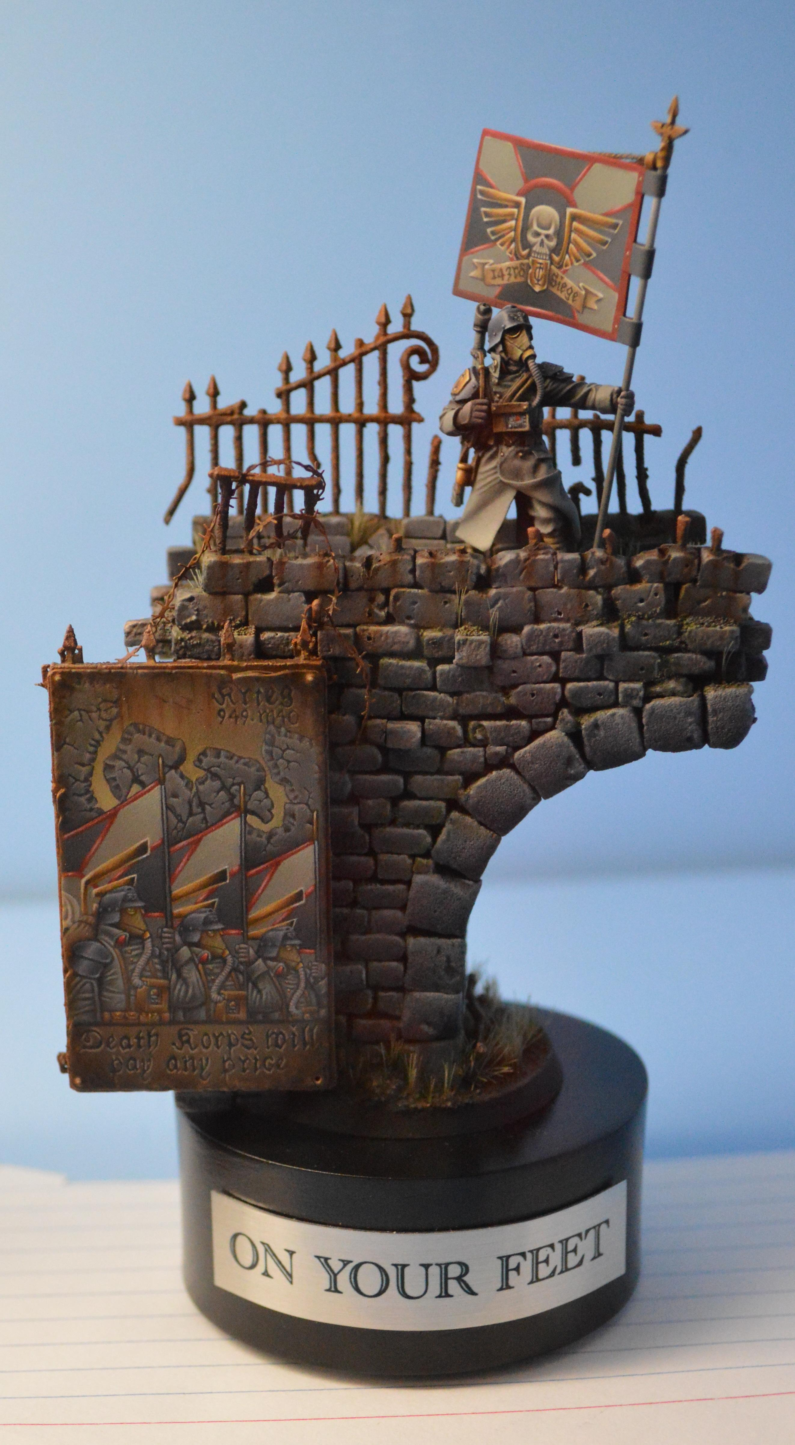 Adepticon 2014, Crystal Brush, Death Korps of Krieg, Diorama, Imperial Guard