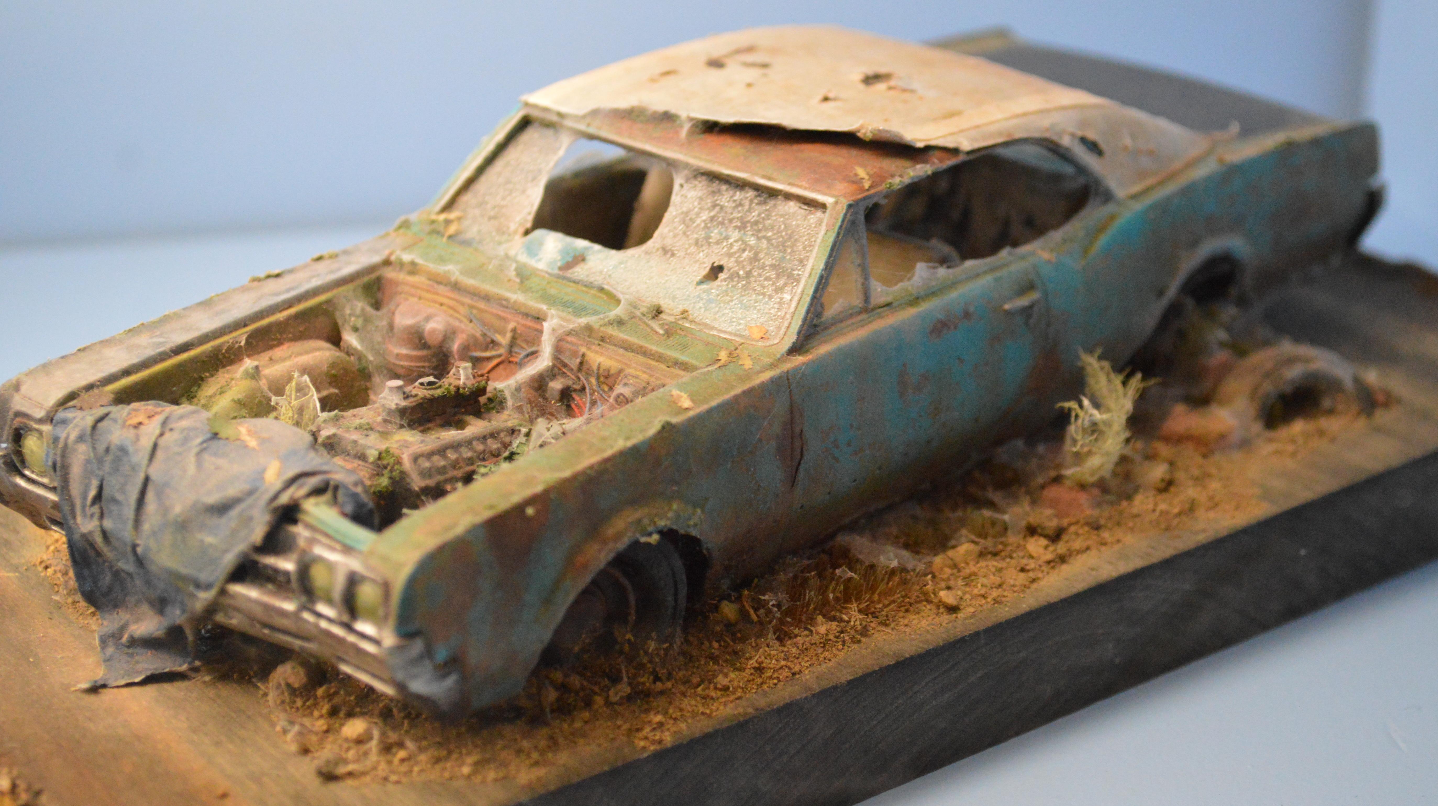 Adepticon 2014, Cars, Civilian, Crystal Brush, Wreck