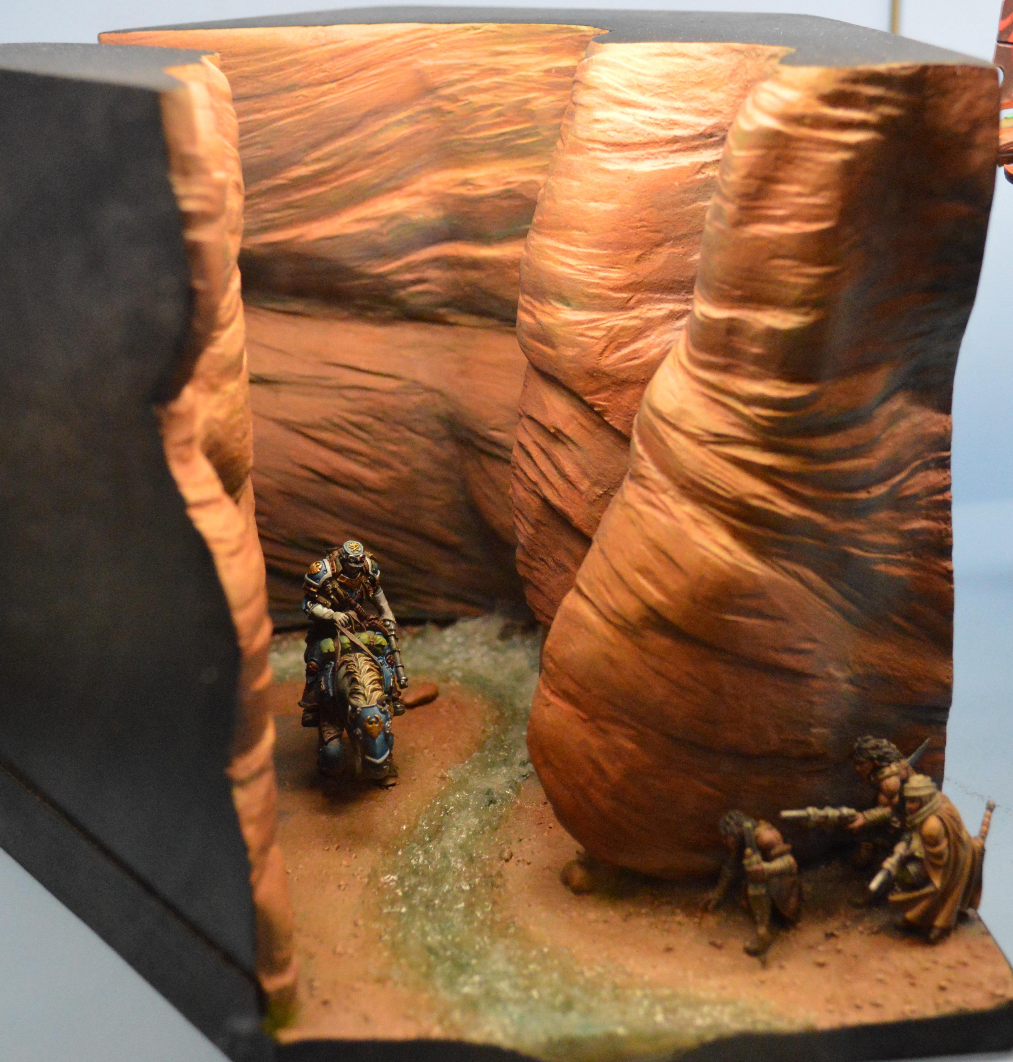 Adepticon 2014, Ambush, Crystal Brush, Diorama