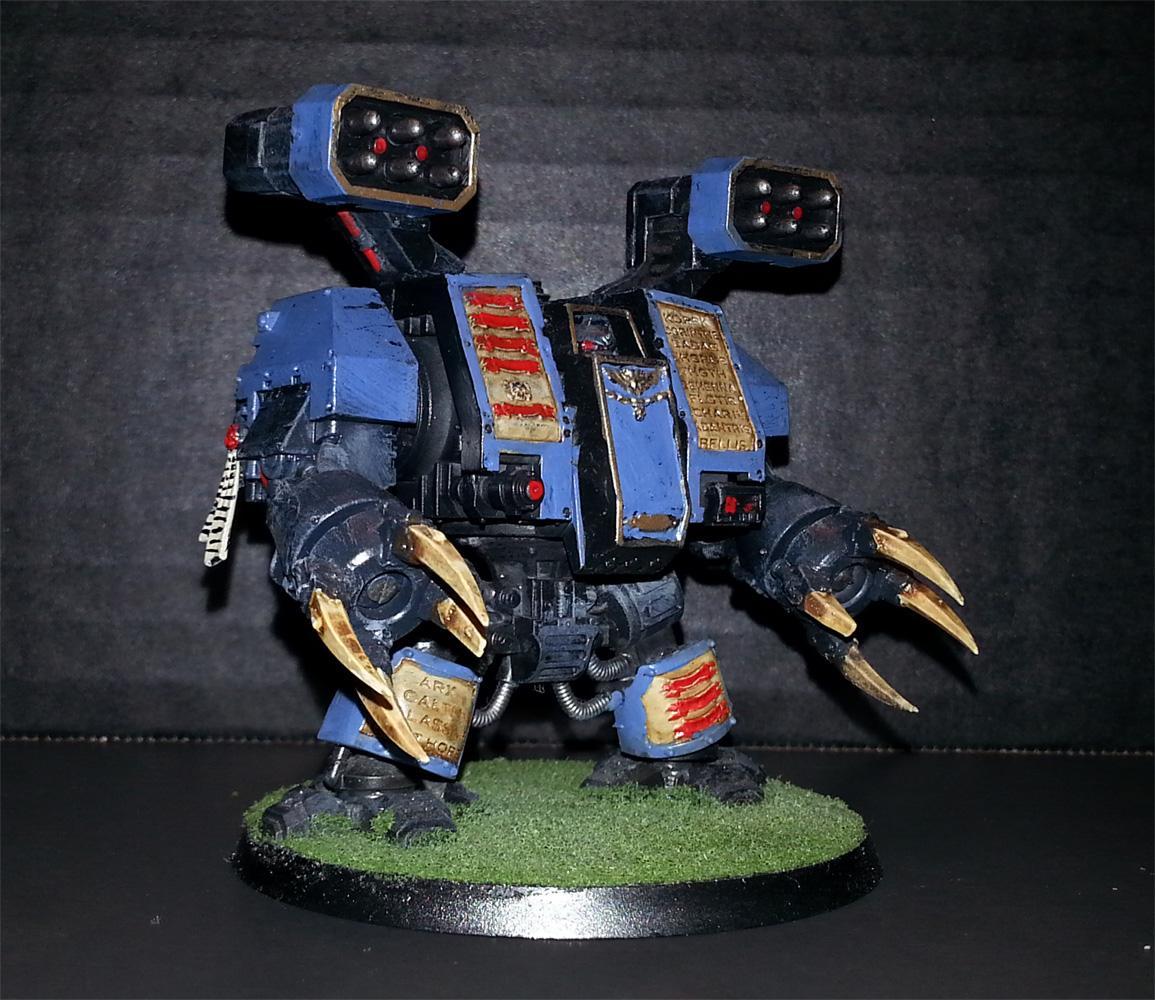 Dreadnought, Space Marines, Space Wolves, Vehicle, Venerable, Walker, Warhammer 40,000
