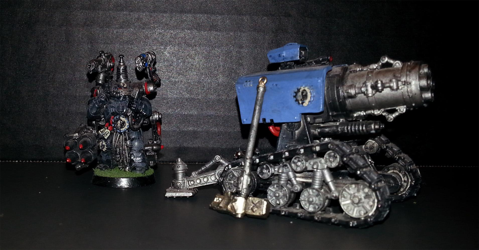 Space Wolves, Thunderfire Cannon, Warhammer 40,000