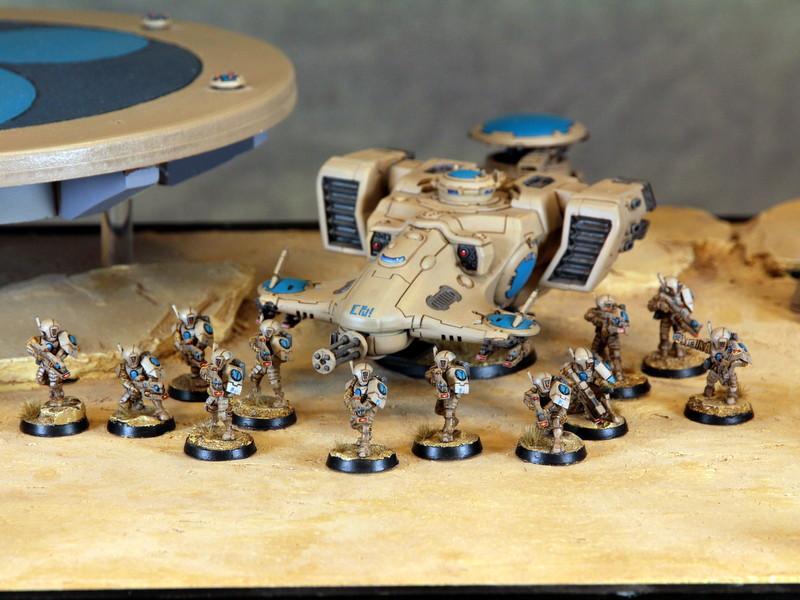 Army, Bork'an, Devilfish, Fire, Tau, Troops, Warhammer 40,000, Warriors
