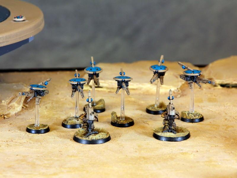 Army, Bork'an, Drones, Snipers, Tau, Warhammer 40,000