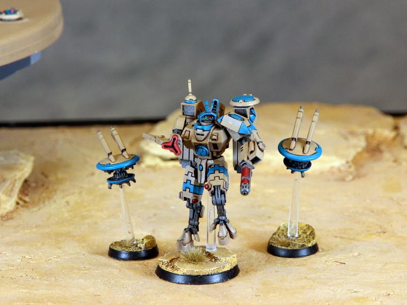 Army, Bork'an, Commander, Conversion, Tau, Warhammer 40,000, Xv-8