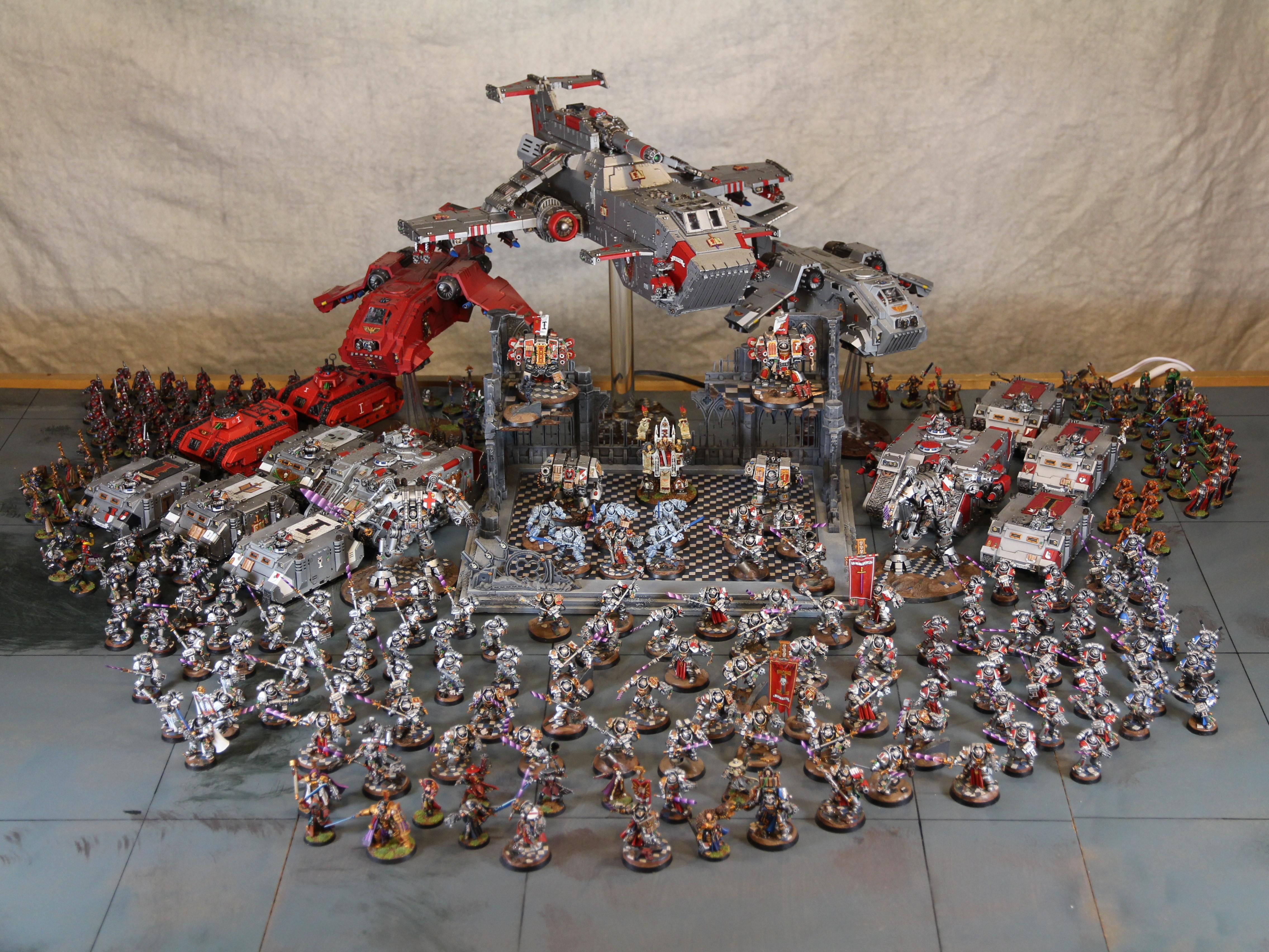 Army, Grey Knights, Inquisition, Storm Raven
