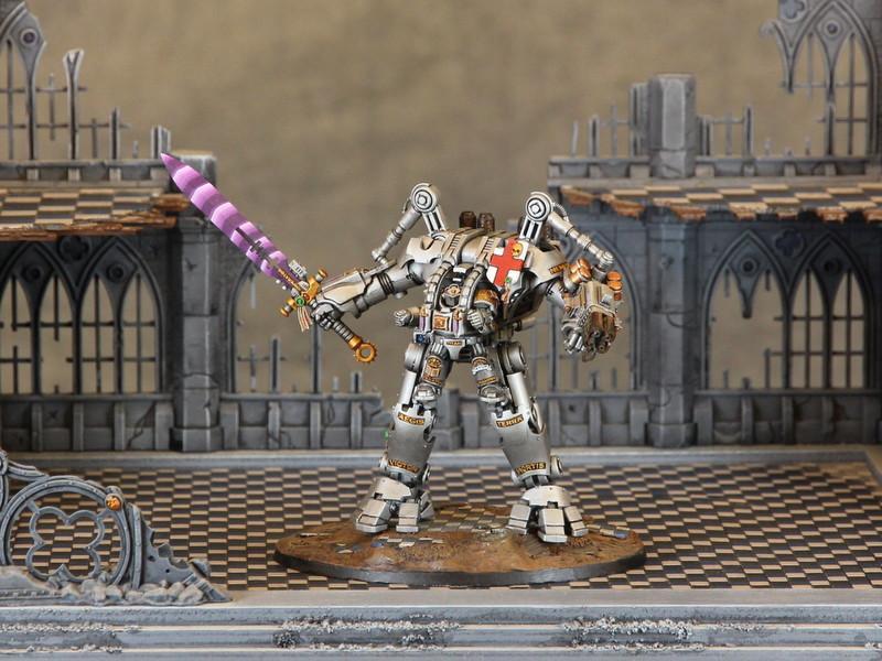 Adeptus Astartes, Dreadknight, Grey Knights, Space Marines, Warhammer 40,000