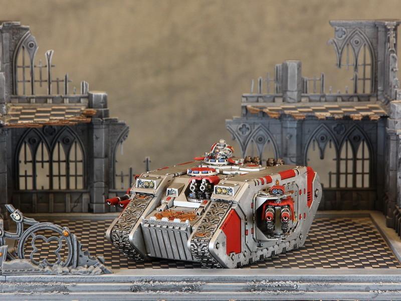 Grey Knights, Land Raider, Tank, Warhammer 40,000