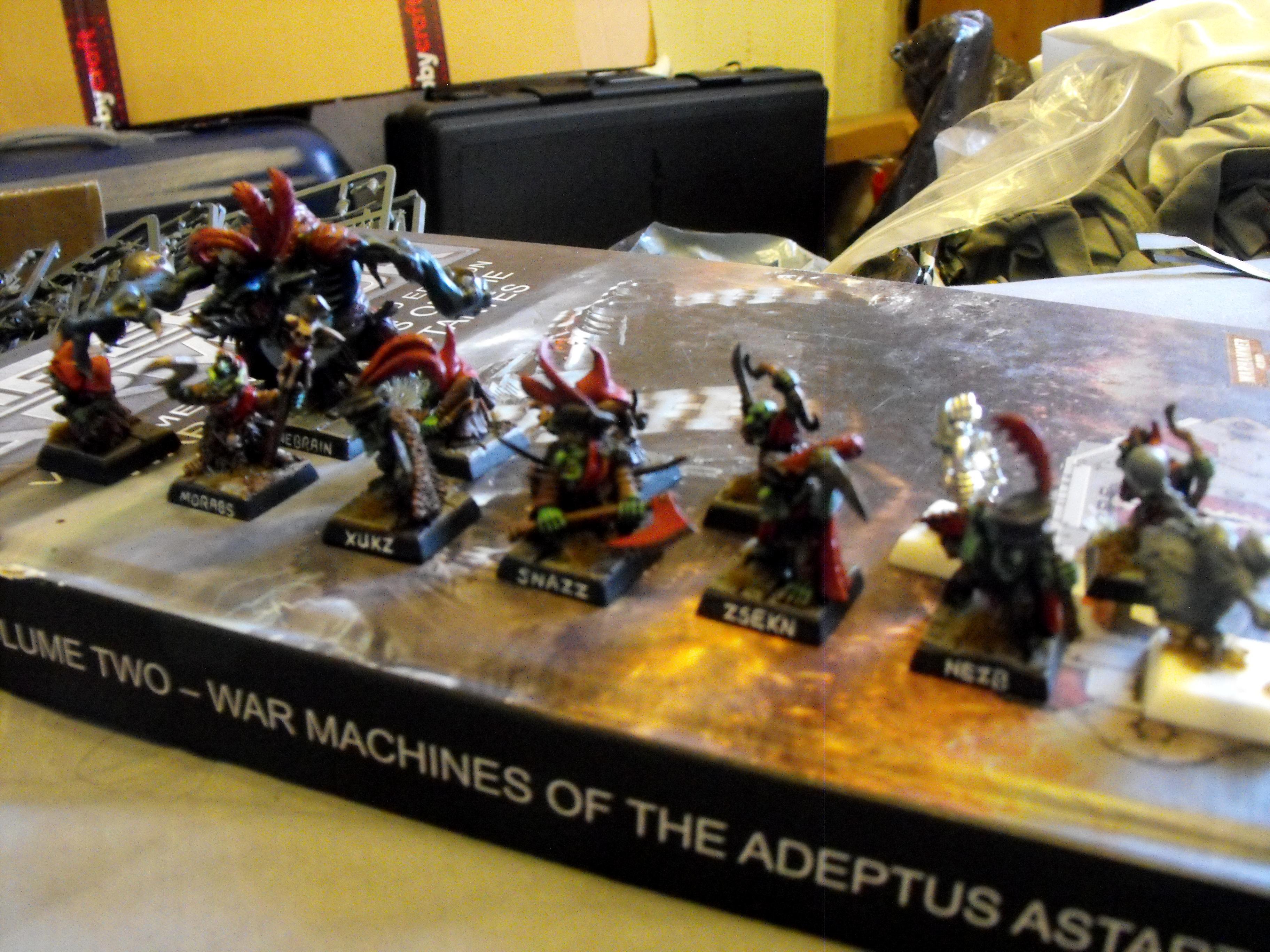 Coreheim, Goblins, Hats, Mordheim, Night Goblins, Troll