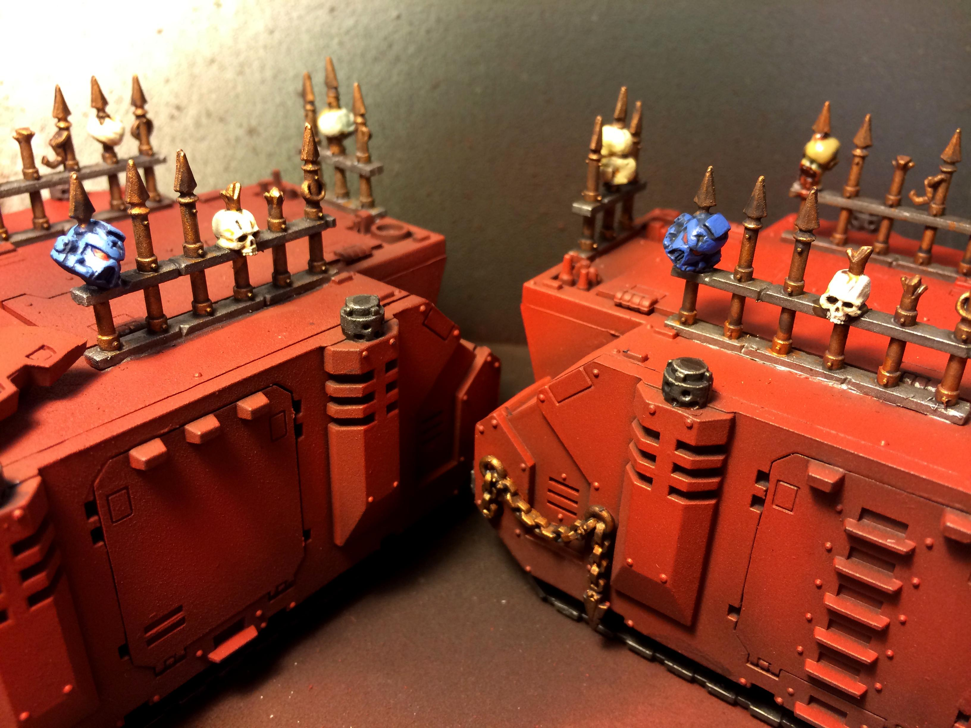 Airbrush, Blood, Chaos, Commission, Red, Rhino, Skull, The Reactor Core, Vardenv2, World Eaters