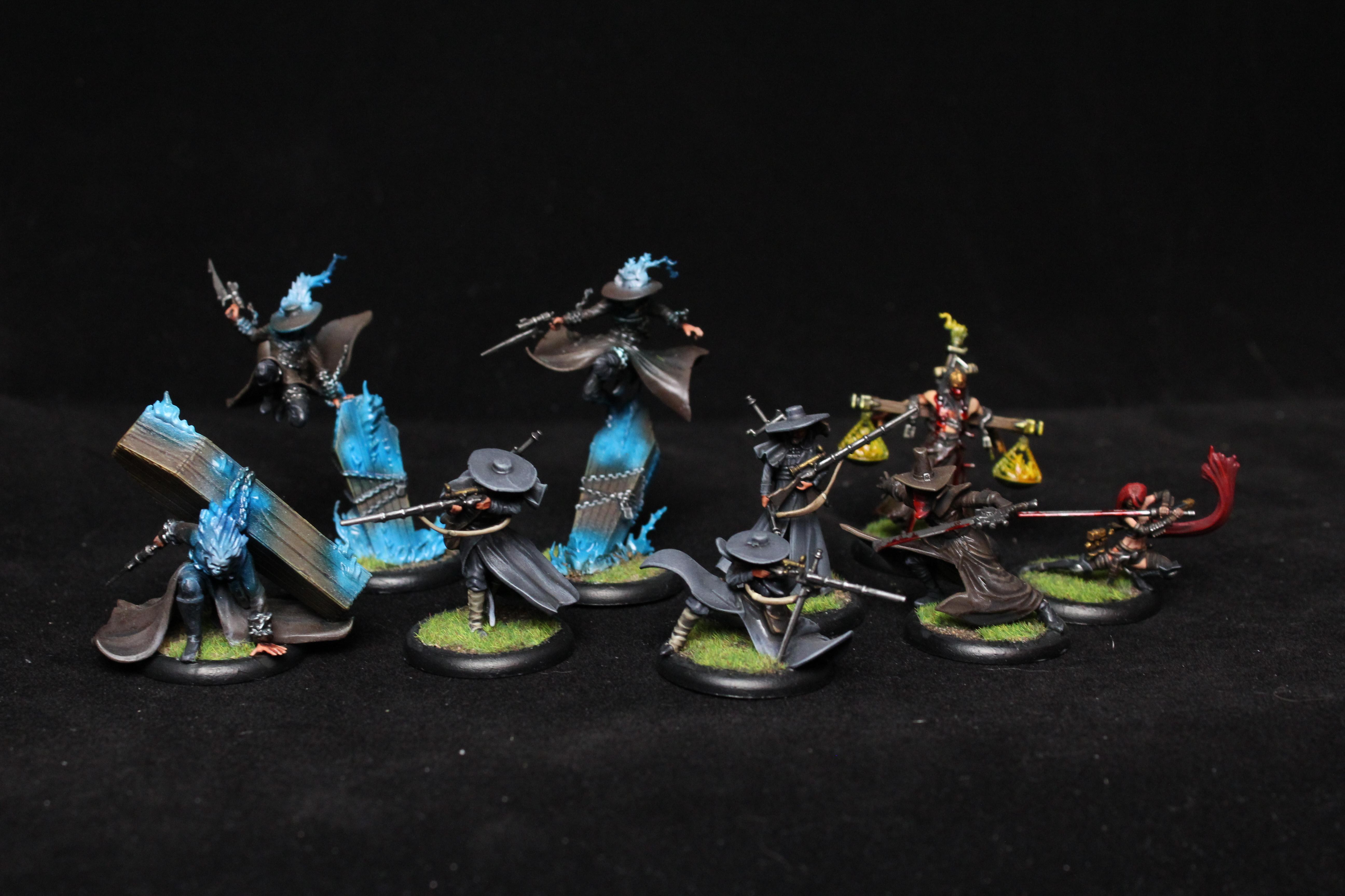 Death Marthal, Guild, Lady Justice, Malifaux, Riflemen