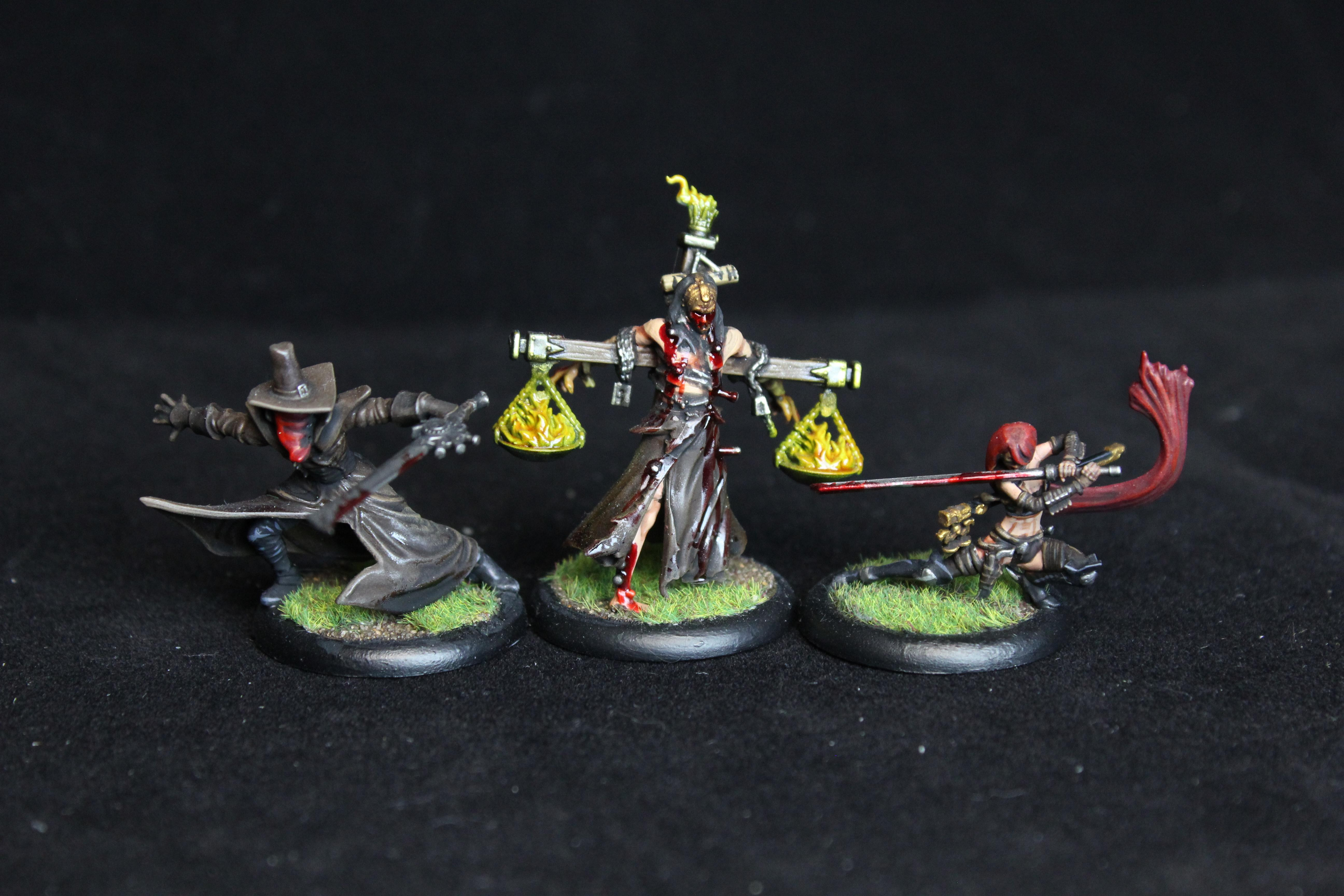 Death Marthal, Guild, Lady Justice, Malifaux, Riflemen