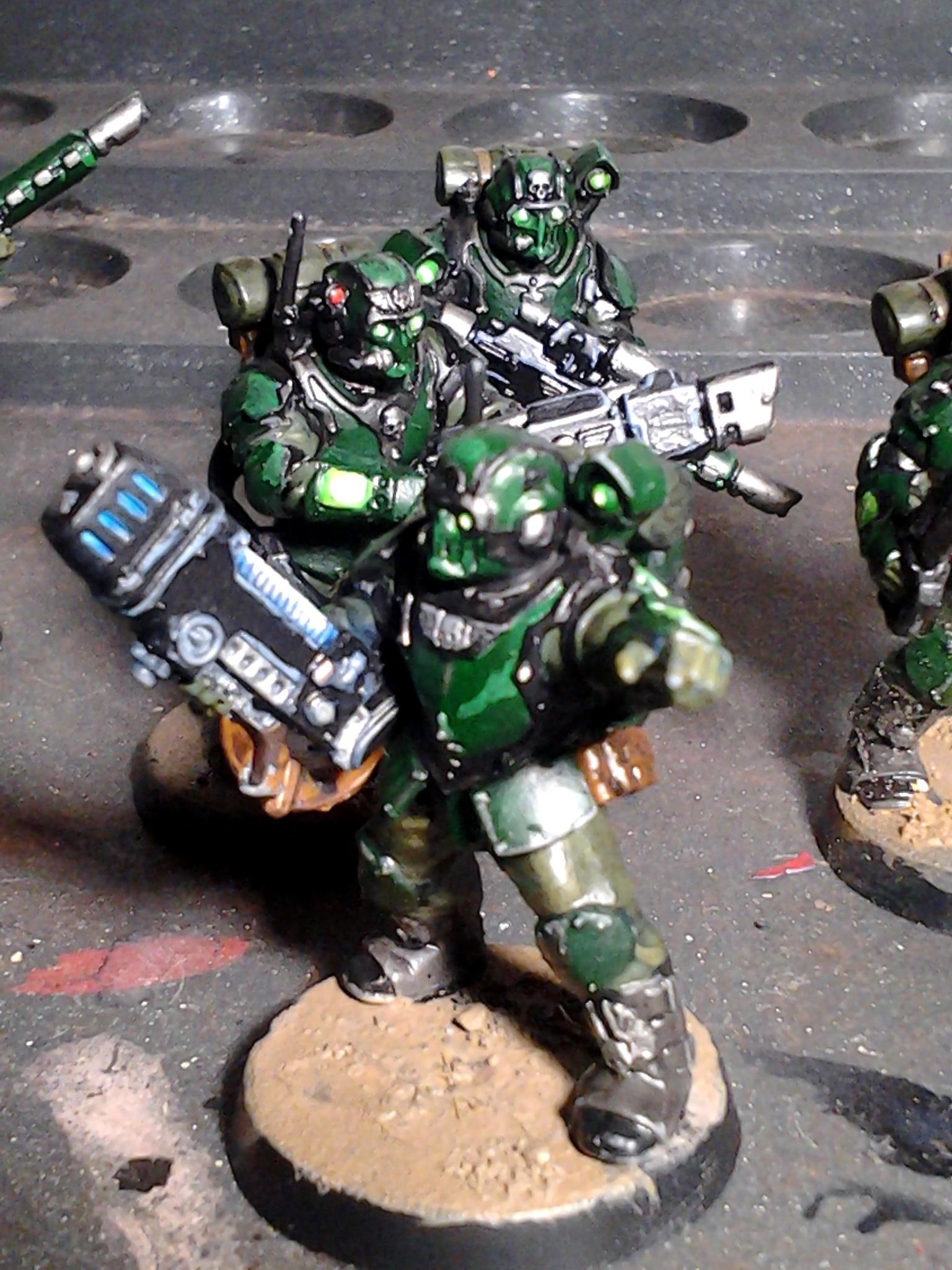 Guardsmen, Imperial, Imperium Tempestus, Militarum, Scions
