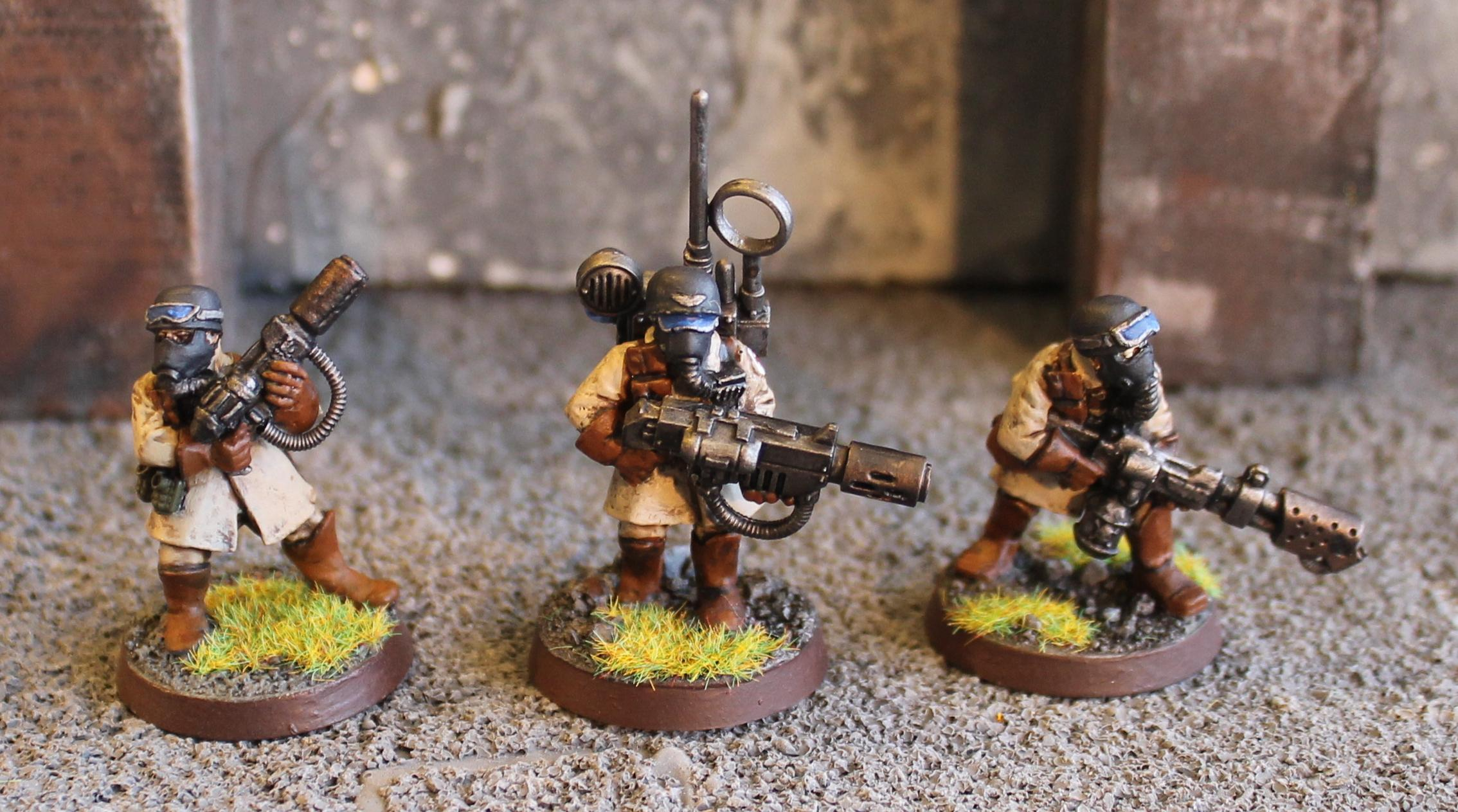 Astra Militarum, Conversion, Imperial Guard, Special Weapons, Steel Legion, Warhammer 40,000
