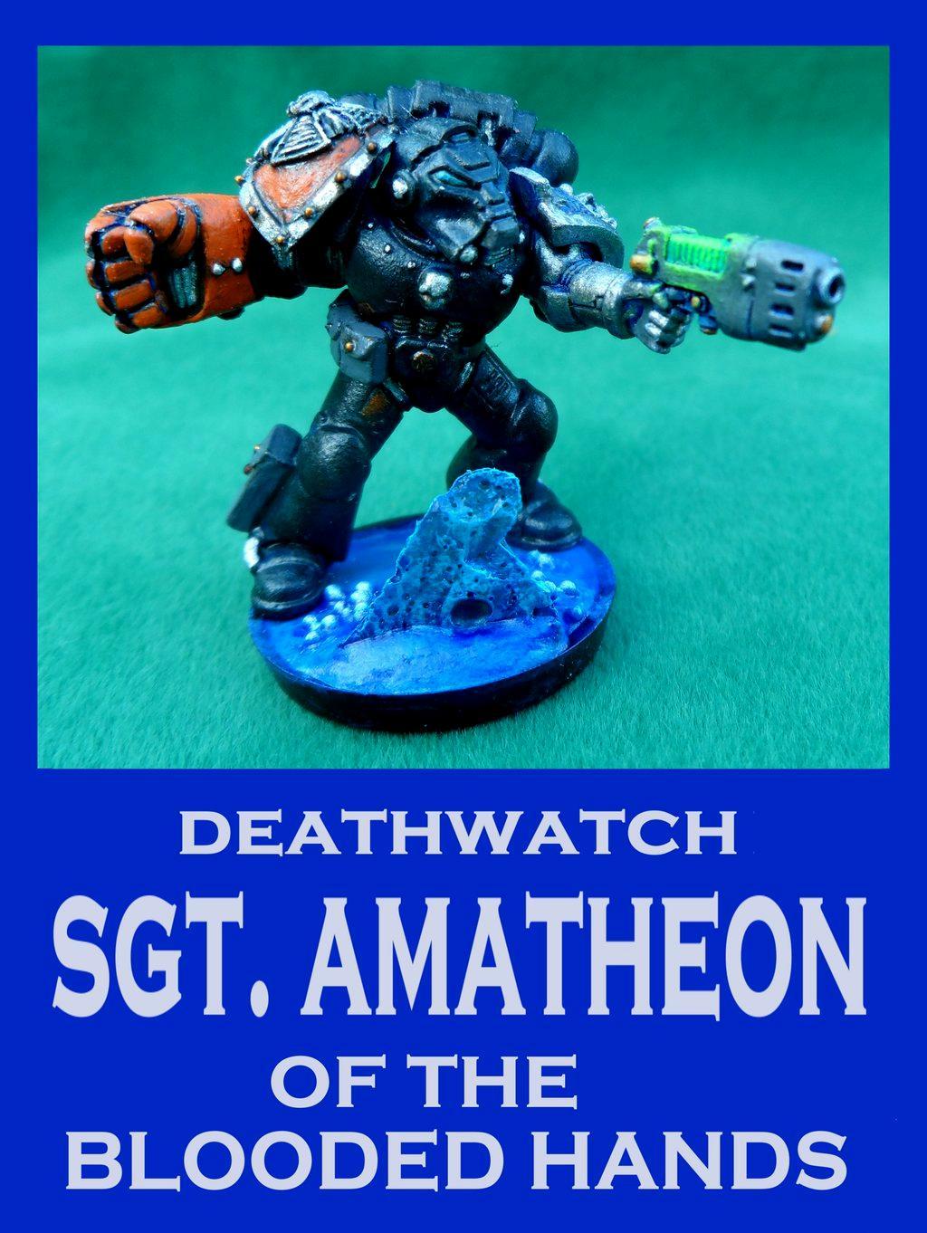 Astartes, Deathwatch, Space Marines, Warhammer 40,000