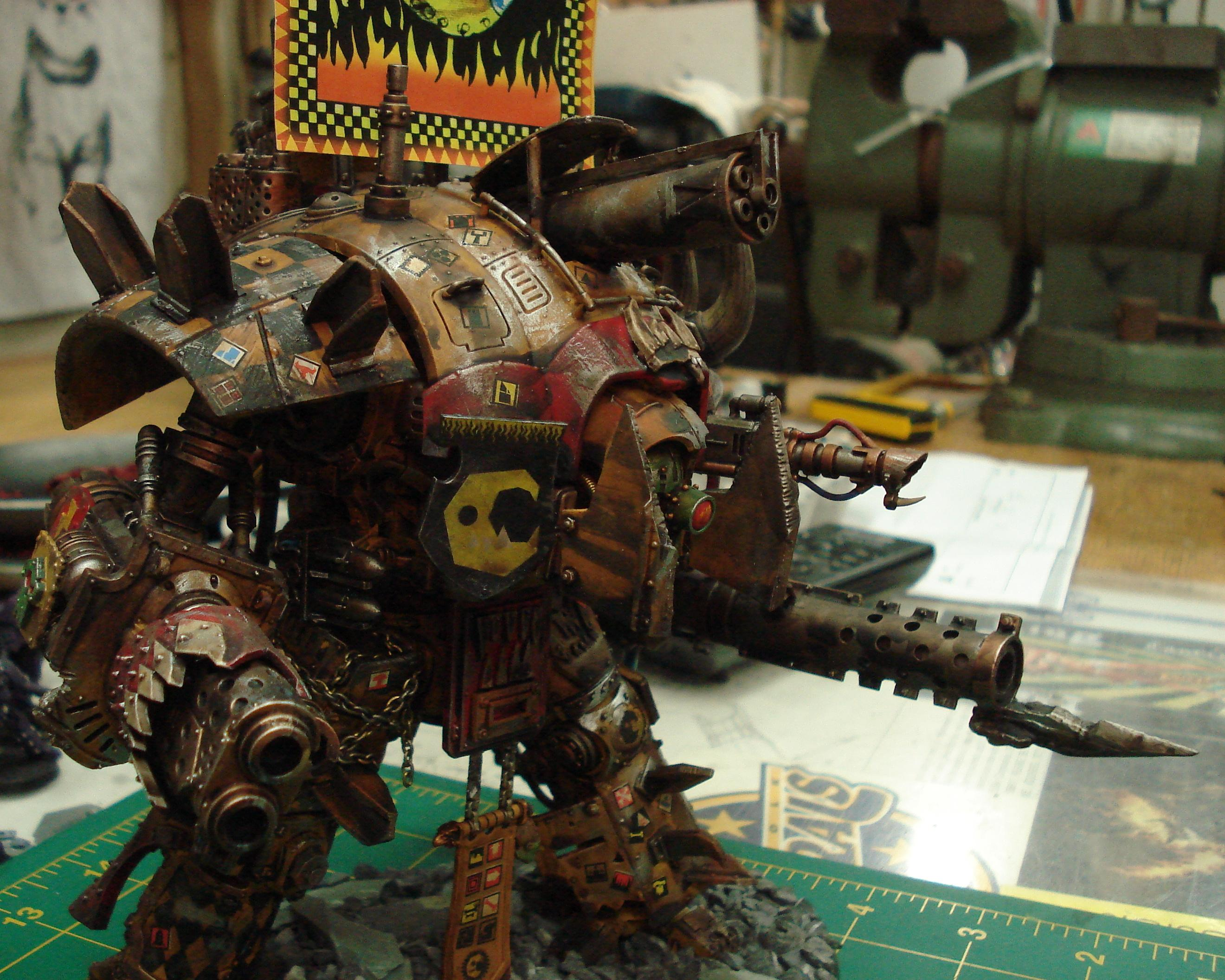 Deff, Dreadnought, Imperial, Knights, Looted, Orks, Stompa, Walker