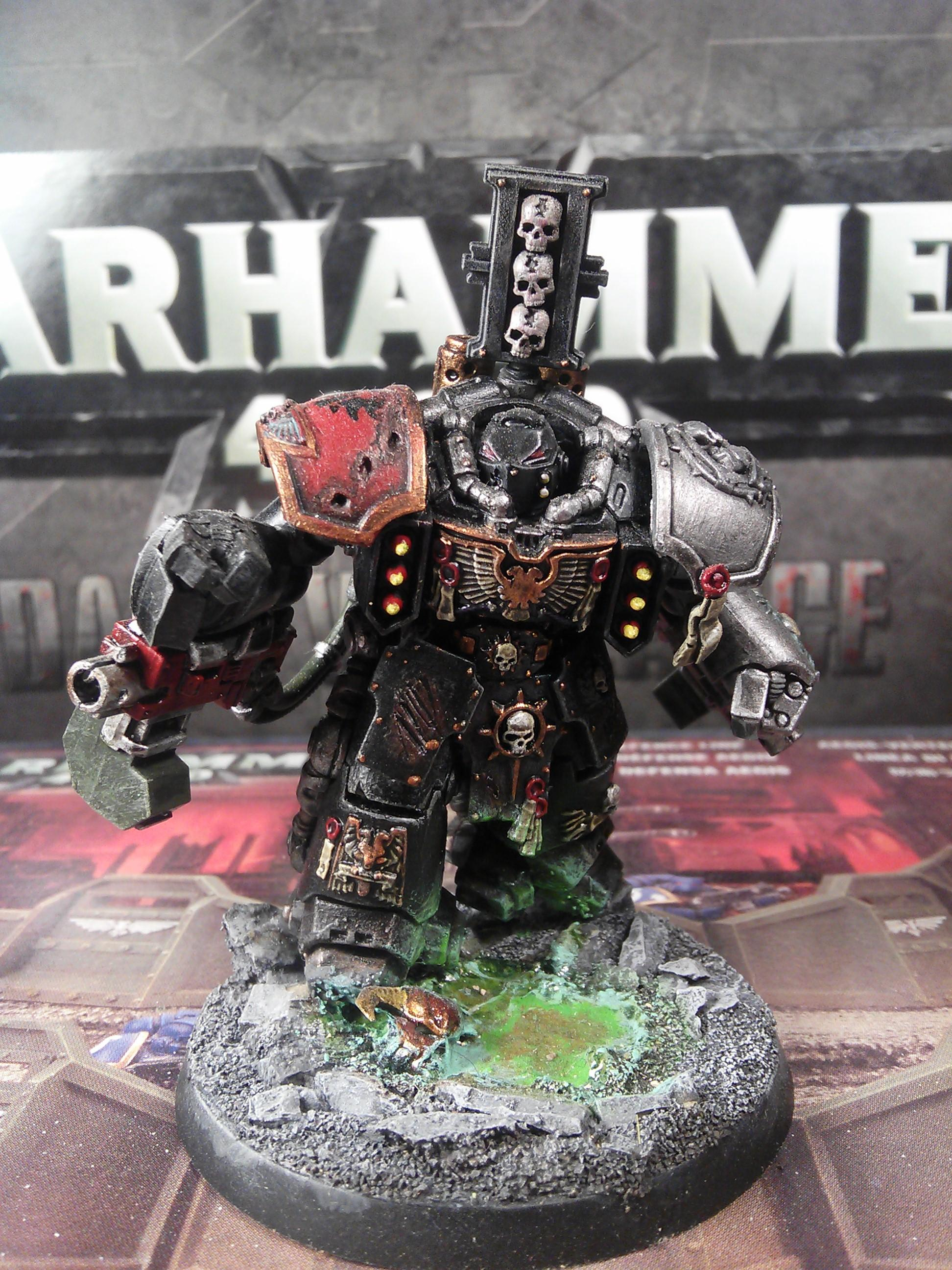 Conversion, Dark Angels, Deathwatch, Space Marines