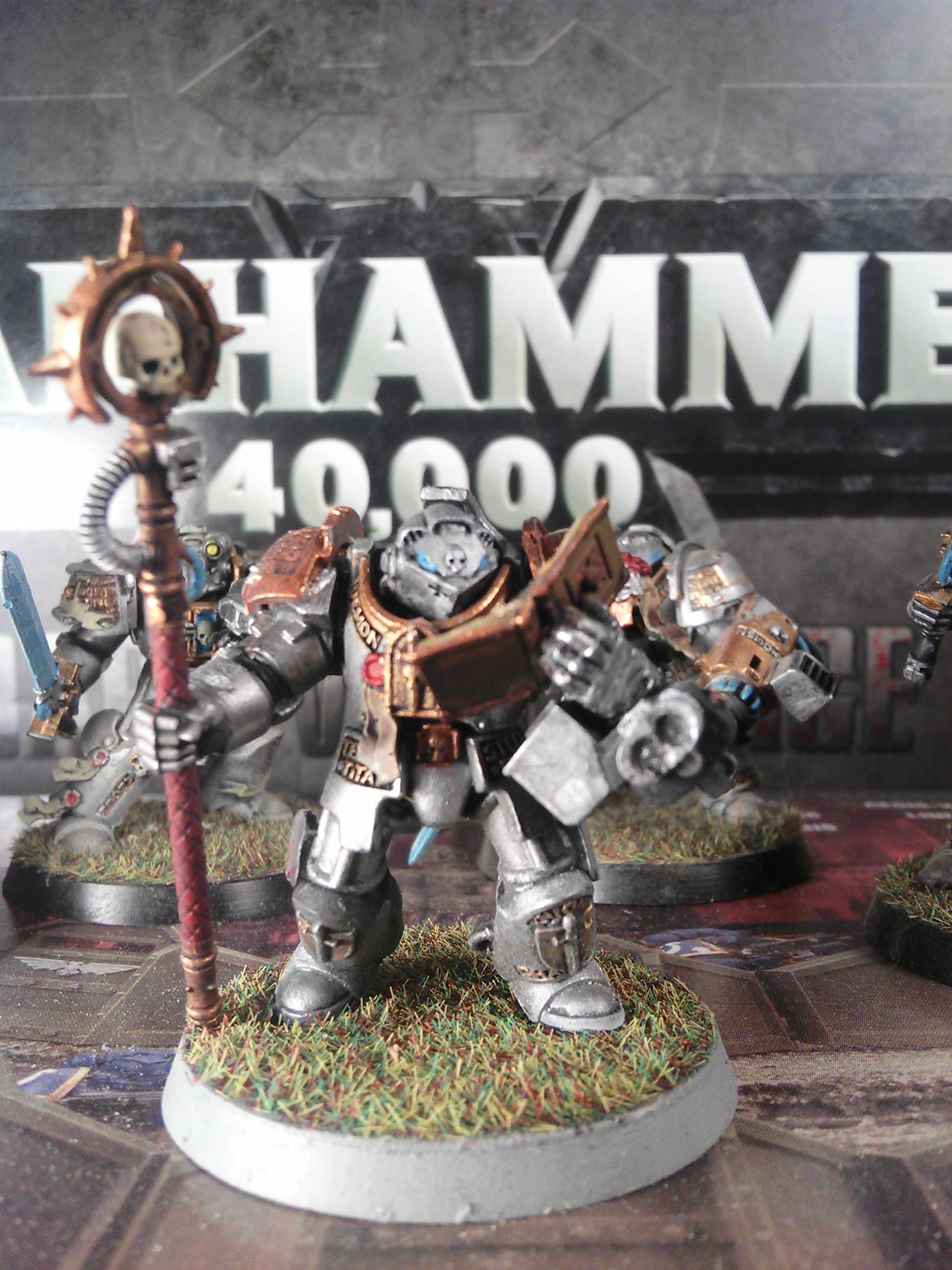 Conversion, Dark Angels, Grey Knights, Space Marines