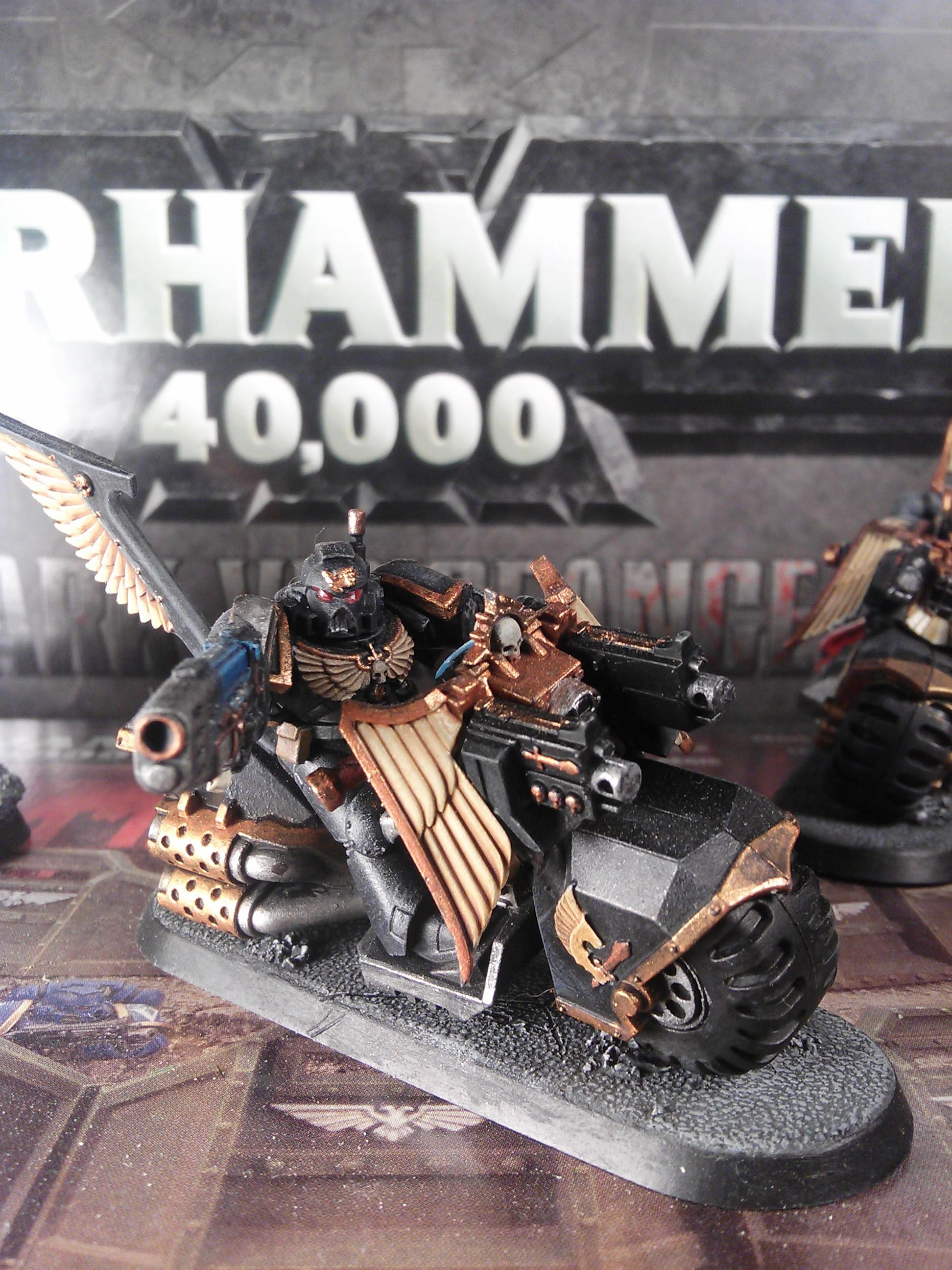 Chaos, Conversion, Dark Angels, Grey Knights, Ravenwing, Space Marines