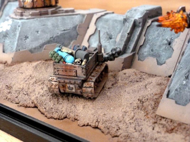 Bunker, Defense Line, Display, Looted, Orcs, Orks, Terrain, Turret