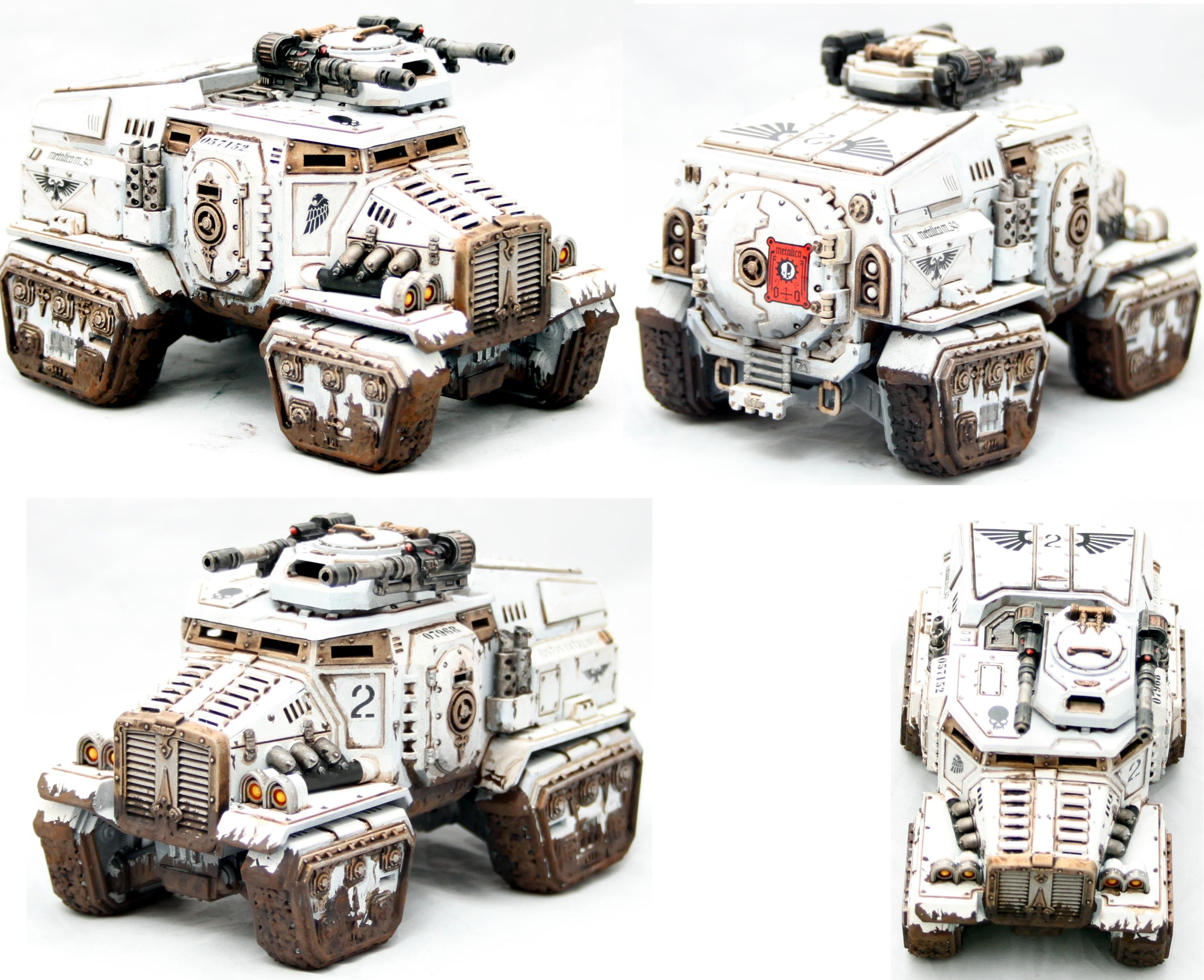 Imperial Guard, Taurox, Transport