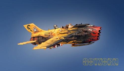 Badmoon, Conversion, Dakka Jet, Figurine, Gotzork, Miniature, Orcs, Orks