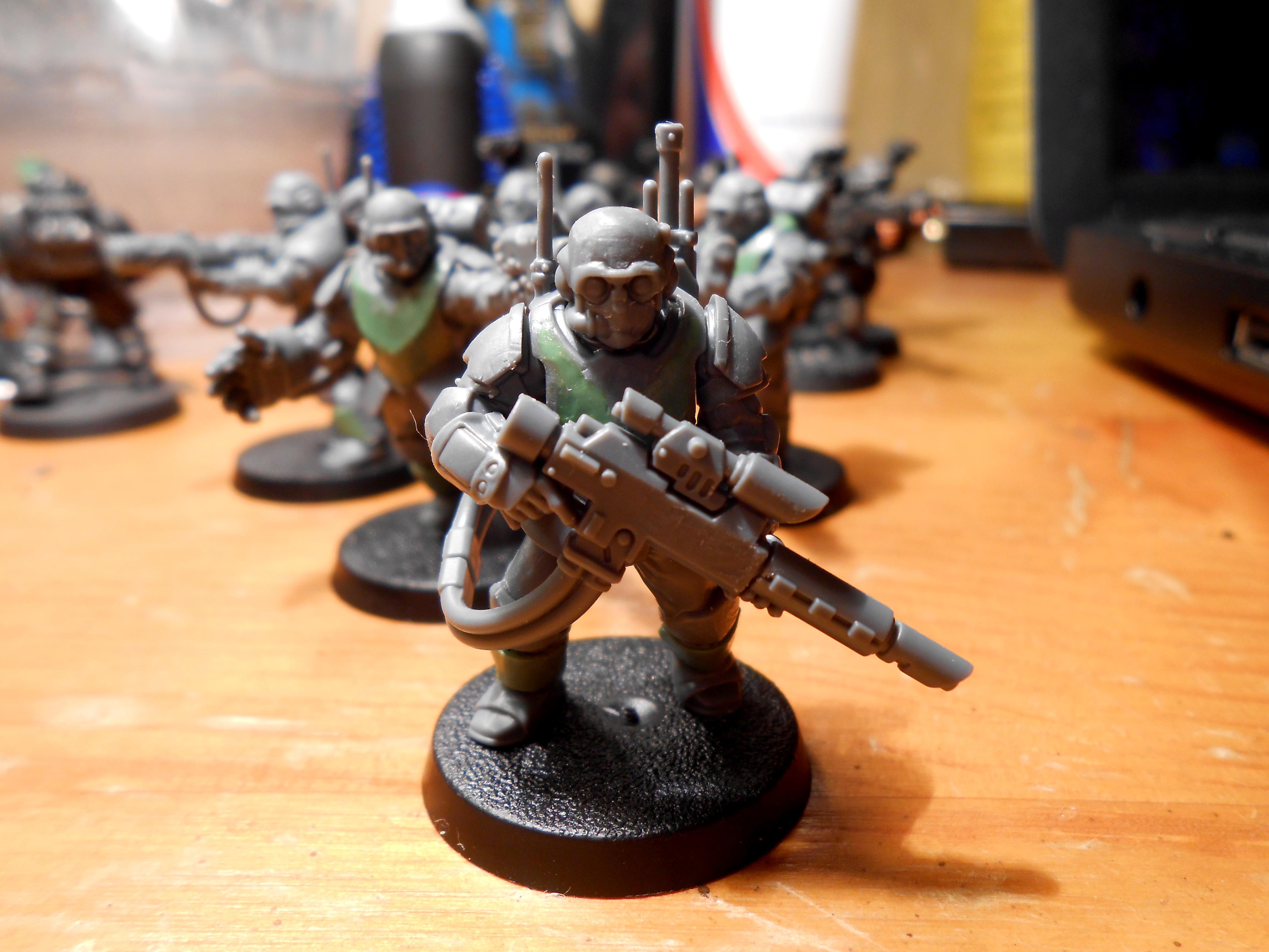 Greenstuff, Scion, Scions, Spec Ops, Special Ops, Storm Troopers, Stormtrooper, Tempestus, Tempestus Scions