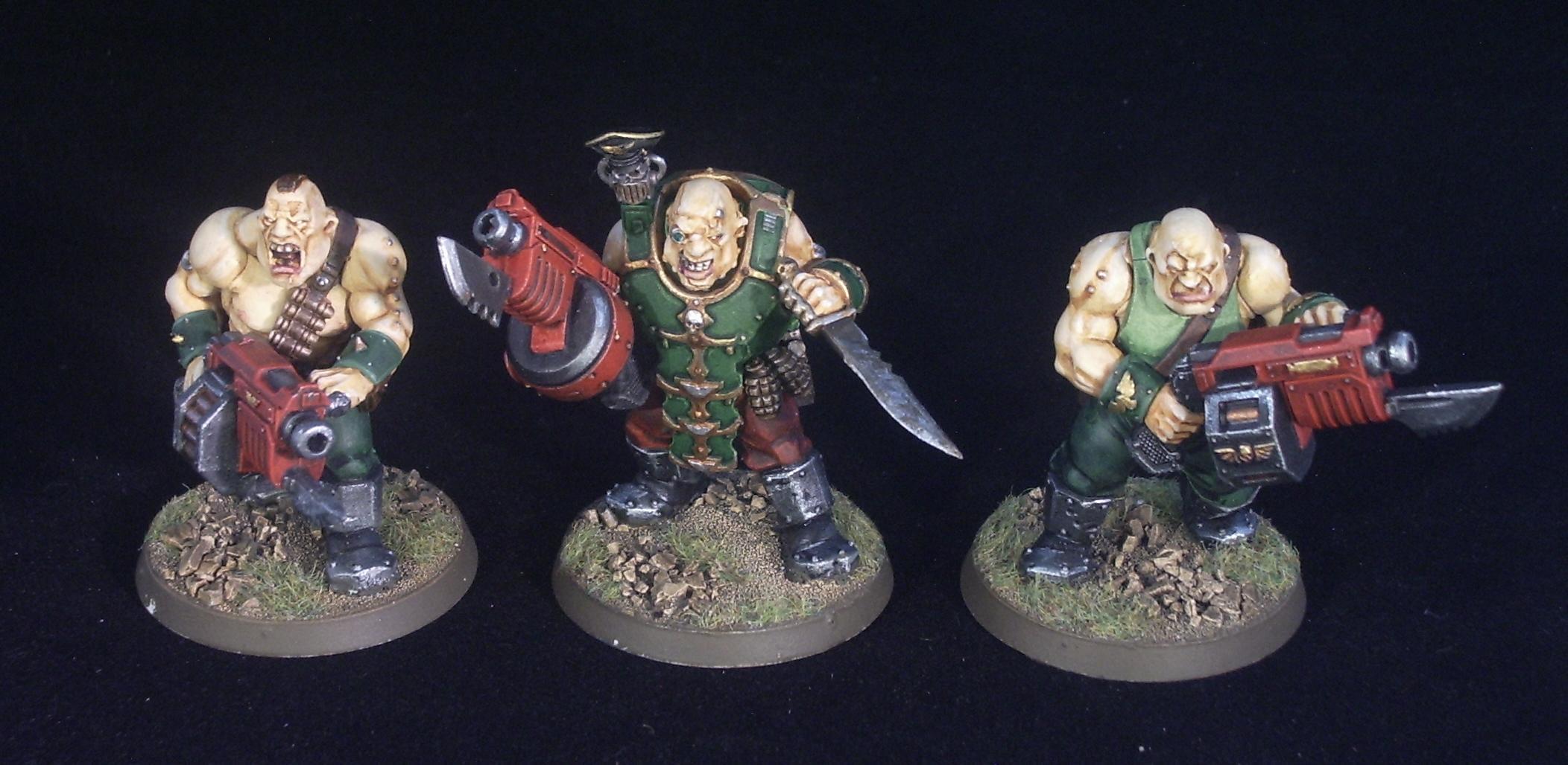 Astra Millitarum, Bullgryn, Imperial Guard, New Ogryn, Nork Deddog, Ogryns