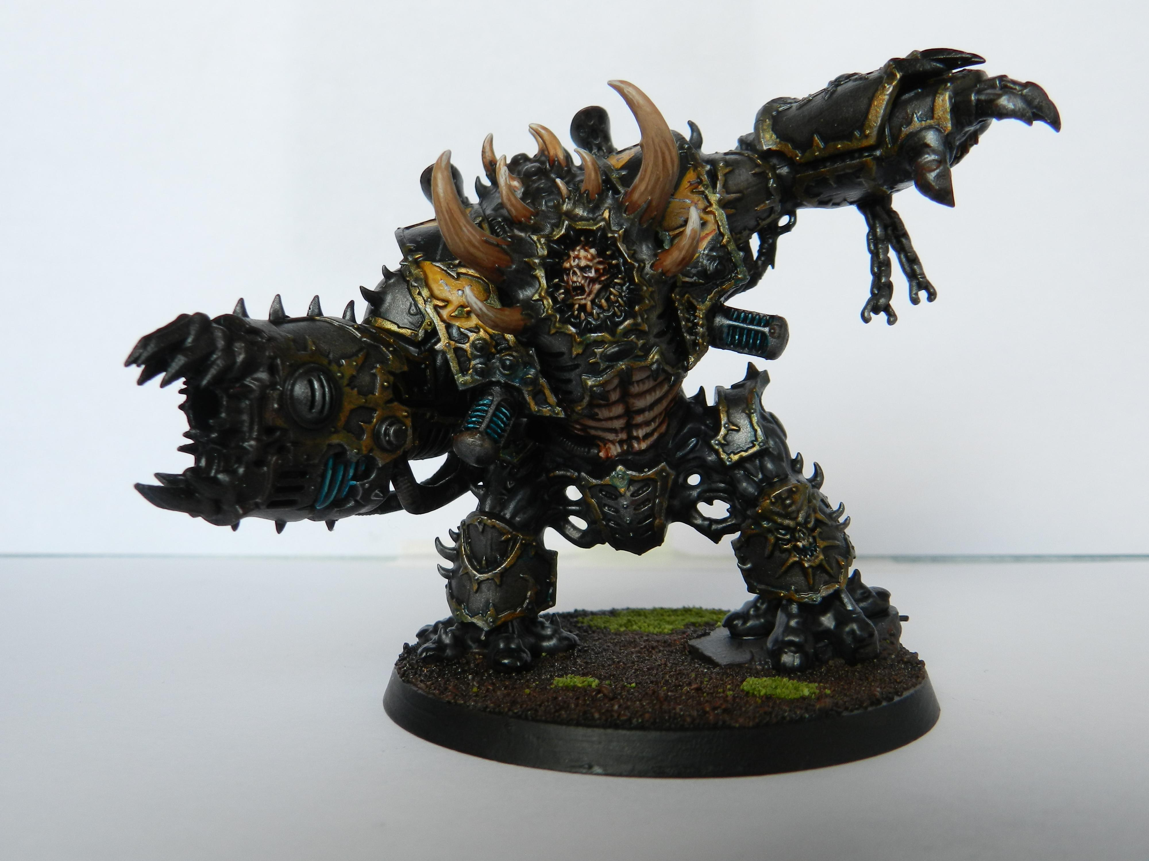 Chaos, Chaos Space Marines, Hellbrute, Iron Warriors