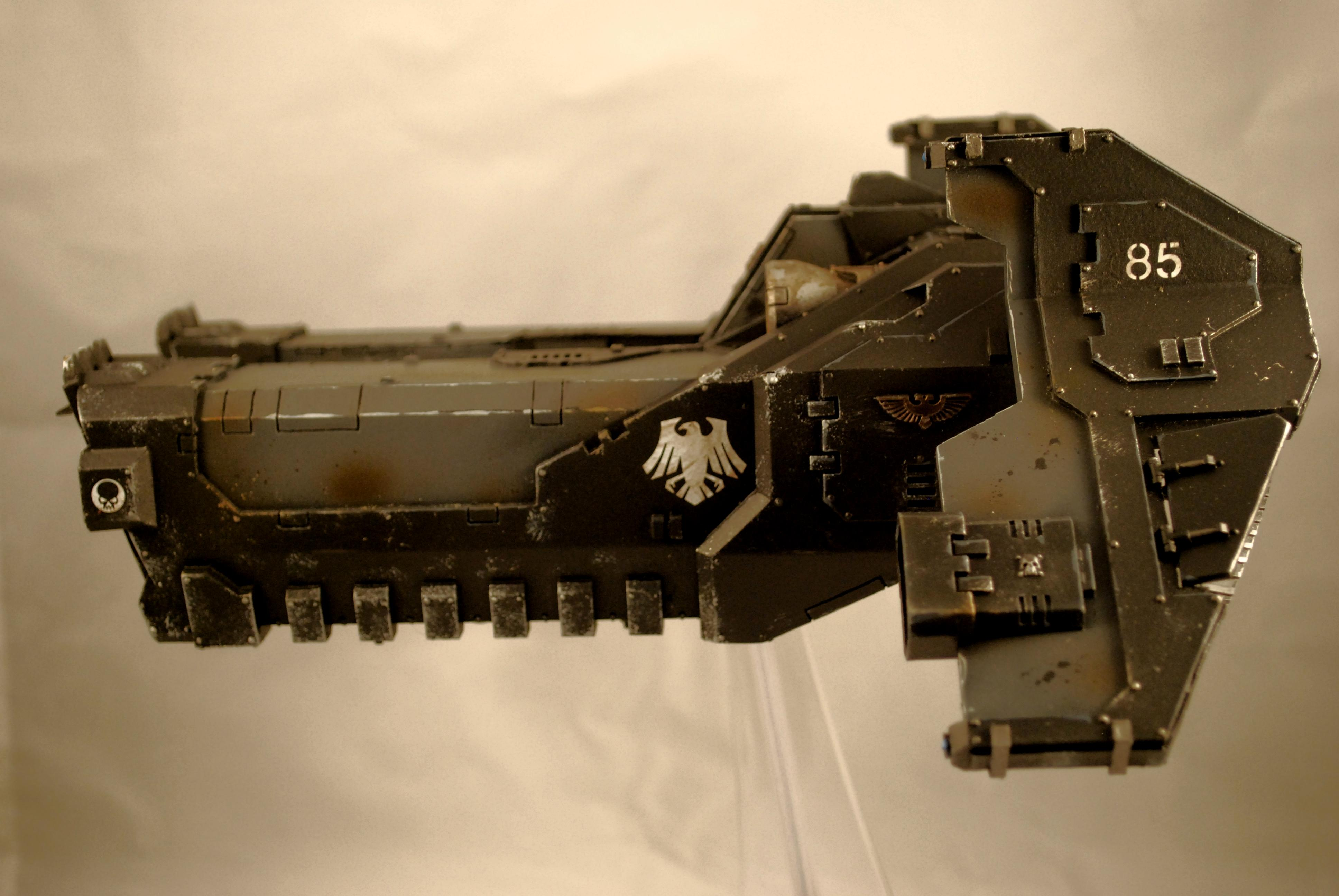 Assault Ram, Flyer, Raven Guard, Space Marines