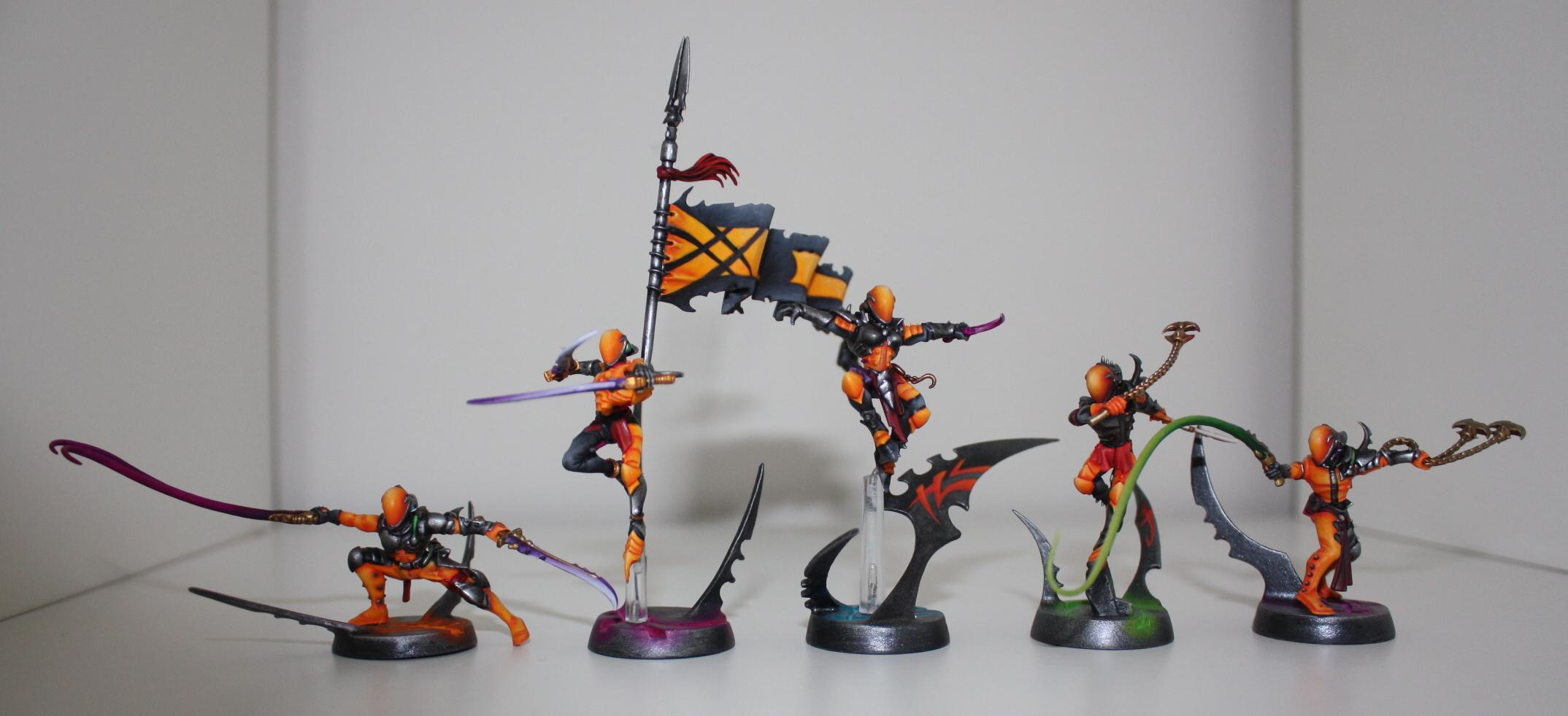 Corsairs, Dark Eldar, Wytches