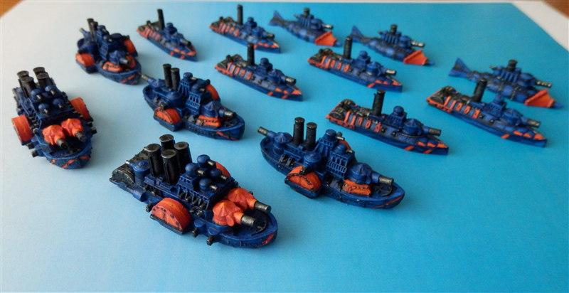 Dwarf Fleet, Man O War, Steampunk