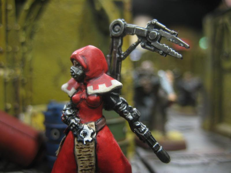 Adeptus Mechanicus, Female, Inq28, Inquisitor, Mechanicum, Mechanicus, Tech Priest