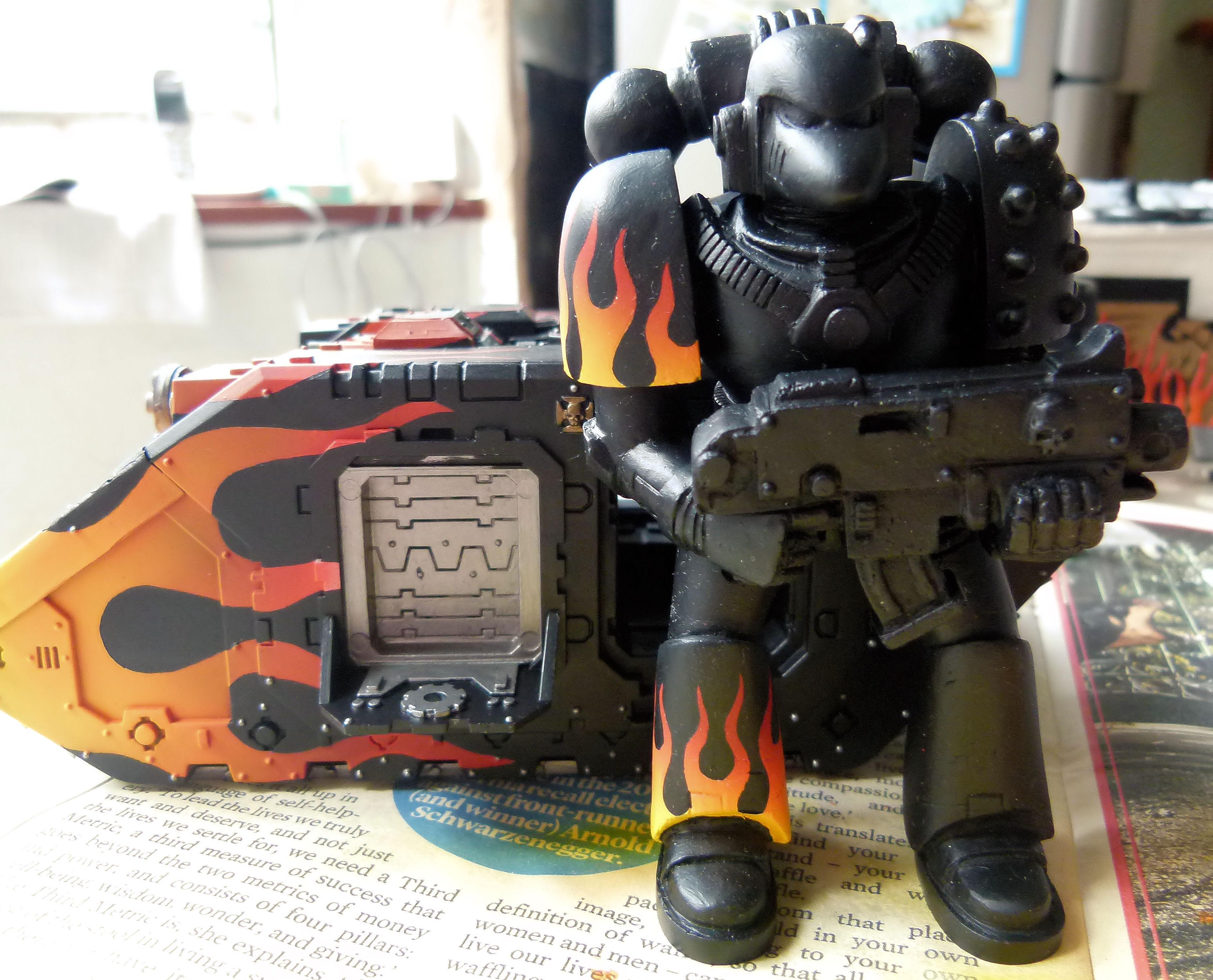 Action Figure, Beakie, Huge, Rogue Trader, Space Marines