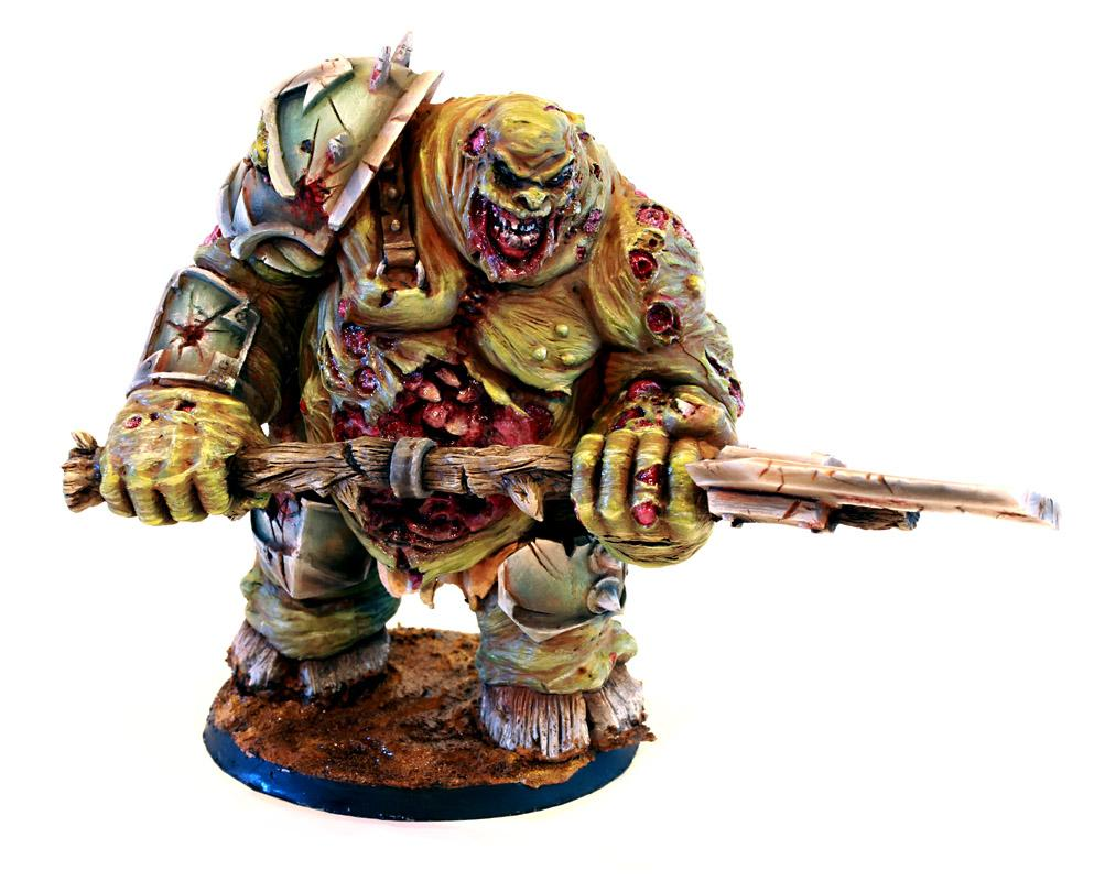 Chaos, Chaos Daemons, Daemons, Great Unclean One, Nurgle, Warhammer 40,000