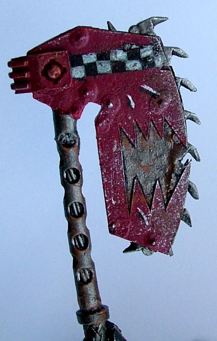 Choppa, Conversion, Gogsnik, Kustom, Orks, Uge, Warhammer 40,000, Warhammer Fantasy